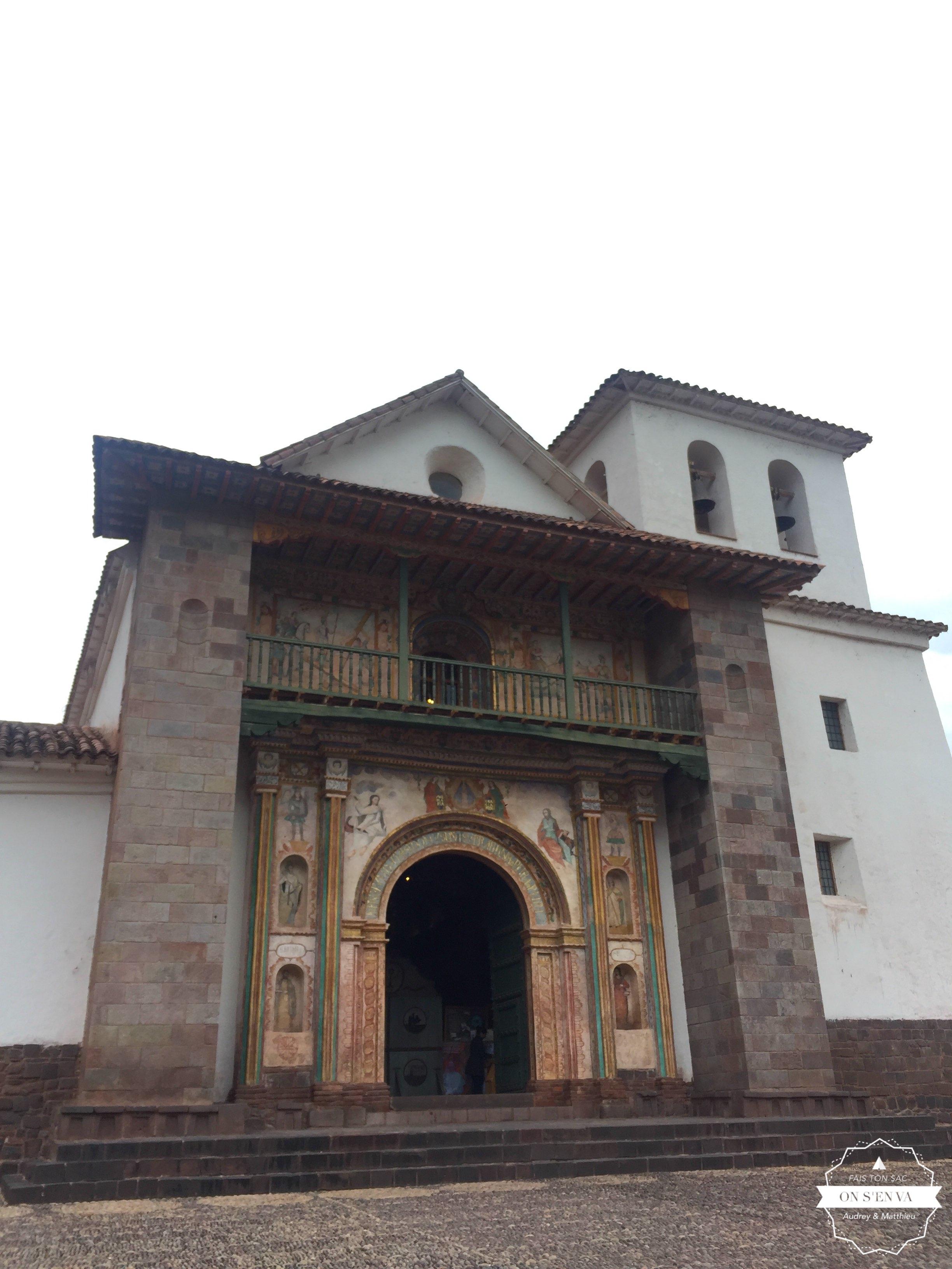 Andahuaylillas, avant Cuzco