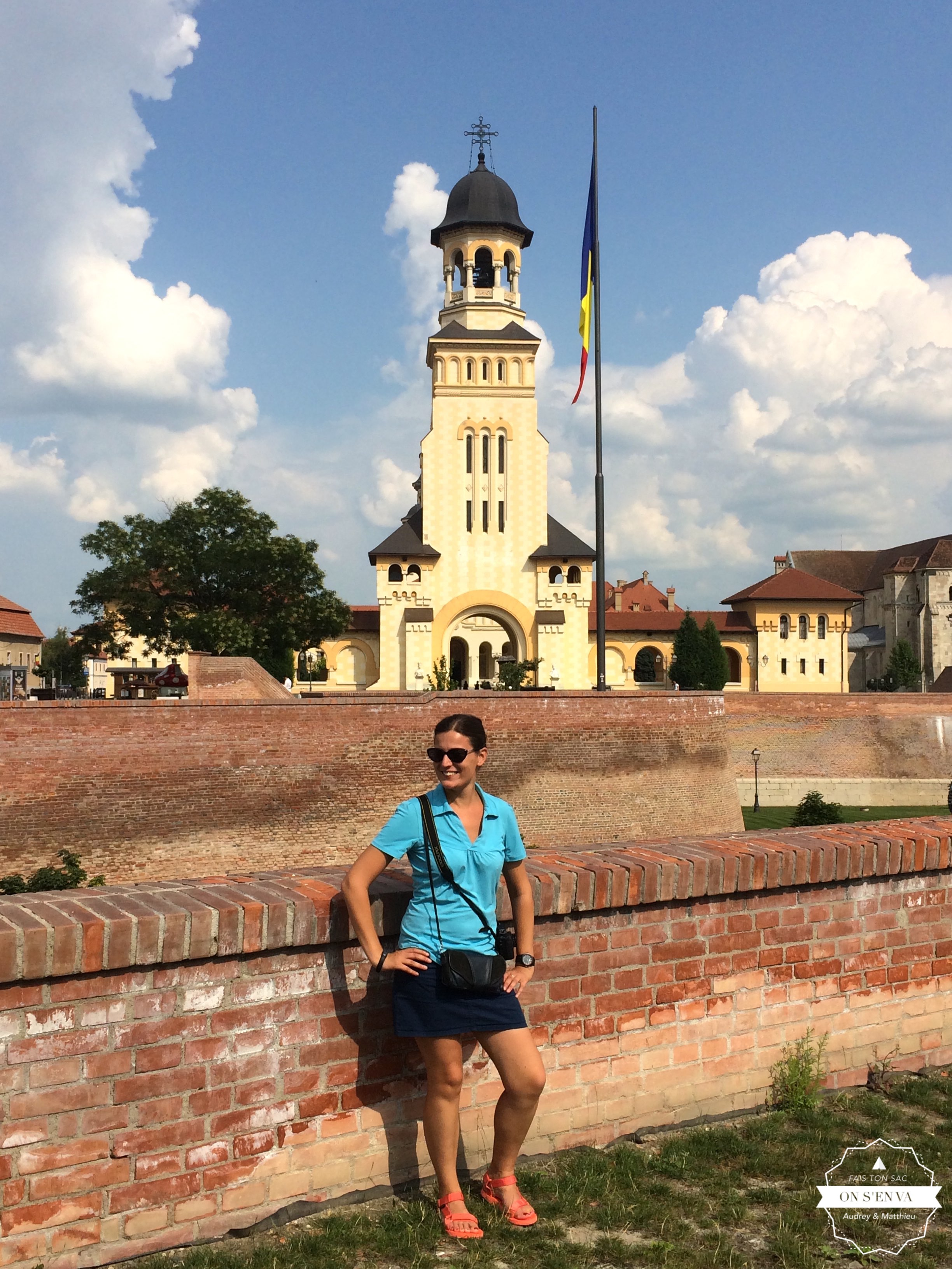 La citadelle d'Alba Iulia