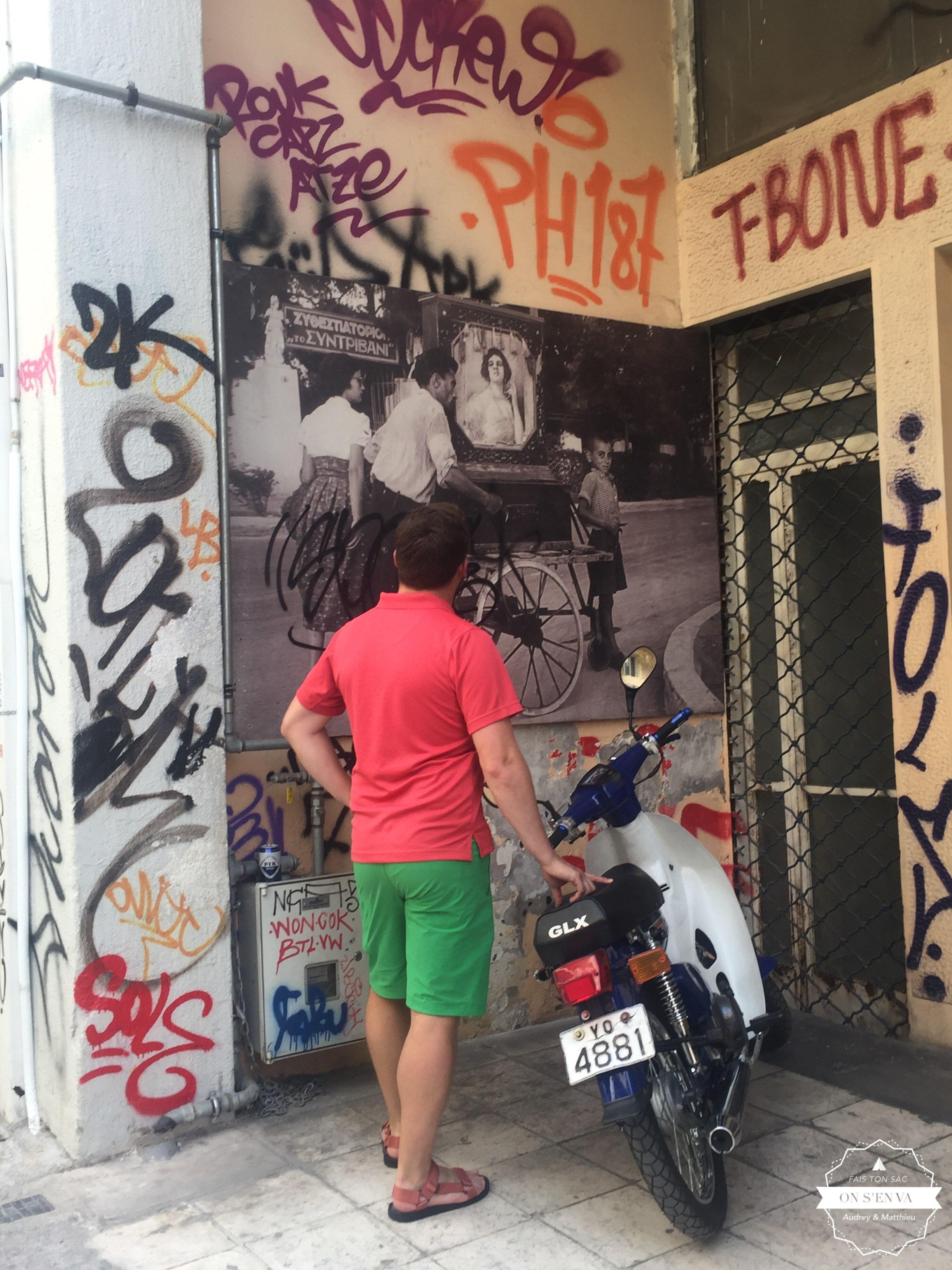 Quartier Psyrri, Athènes
