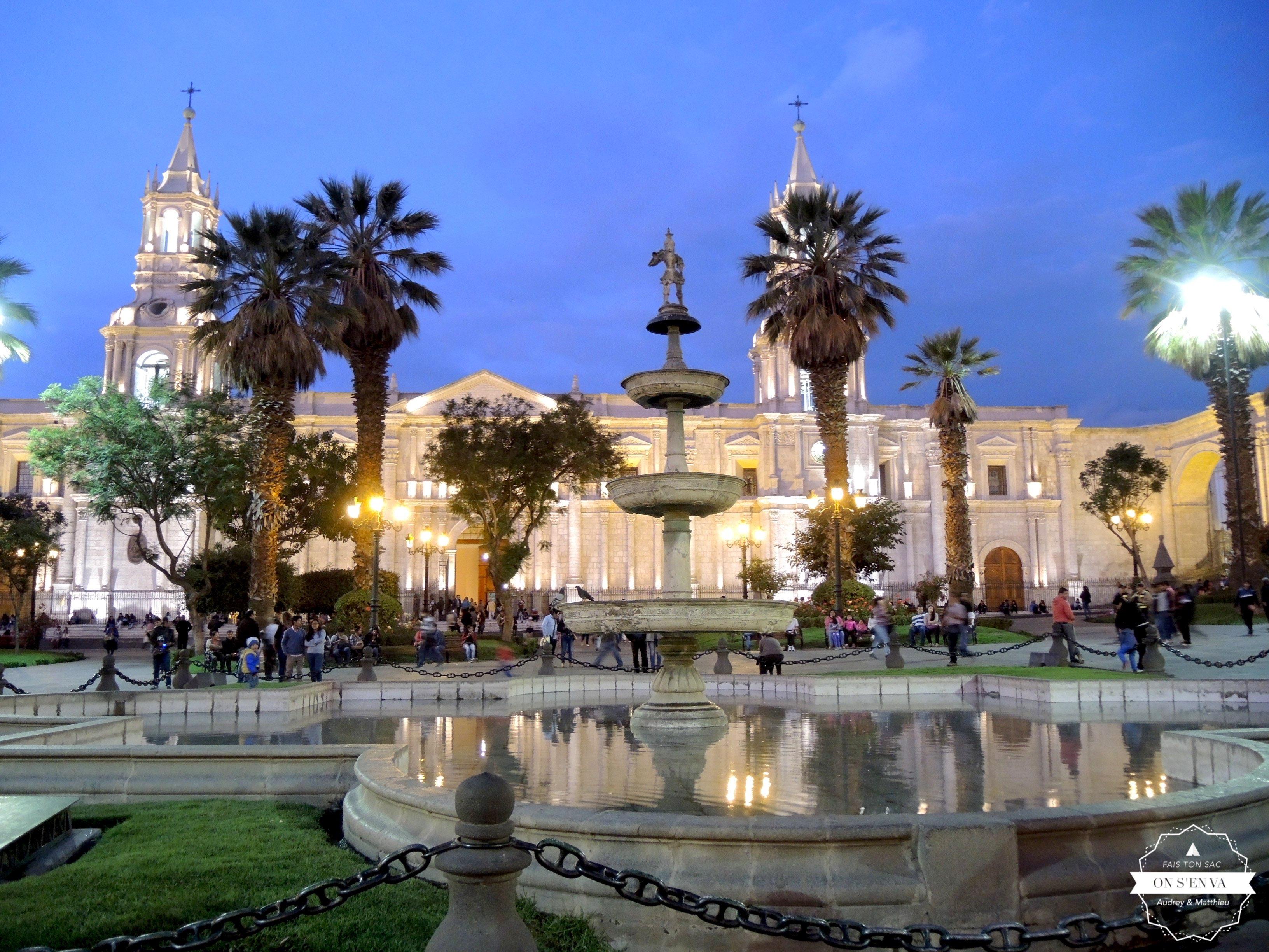 Retour à Arequipa