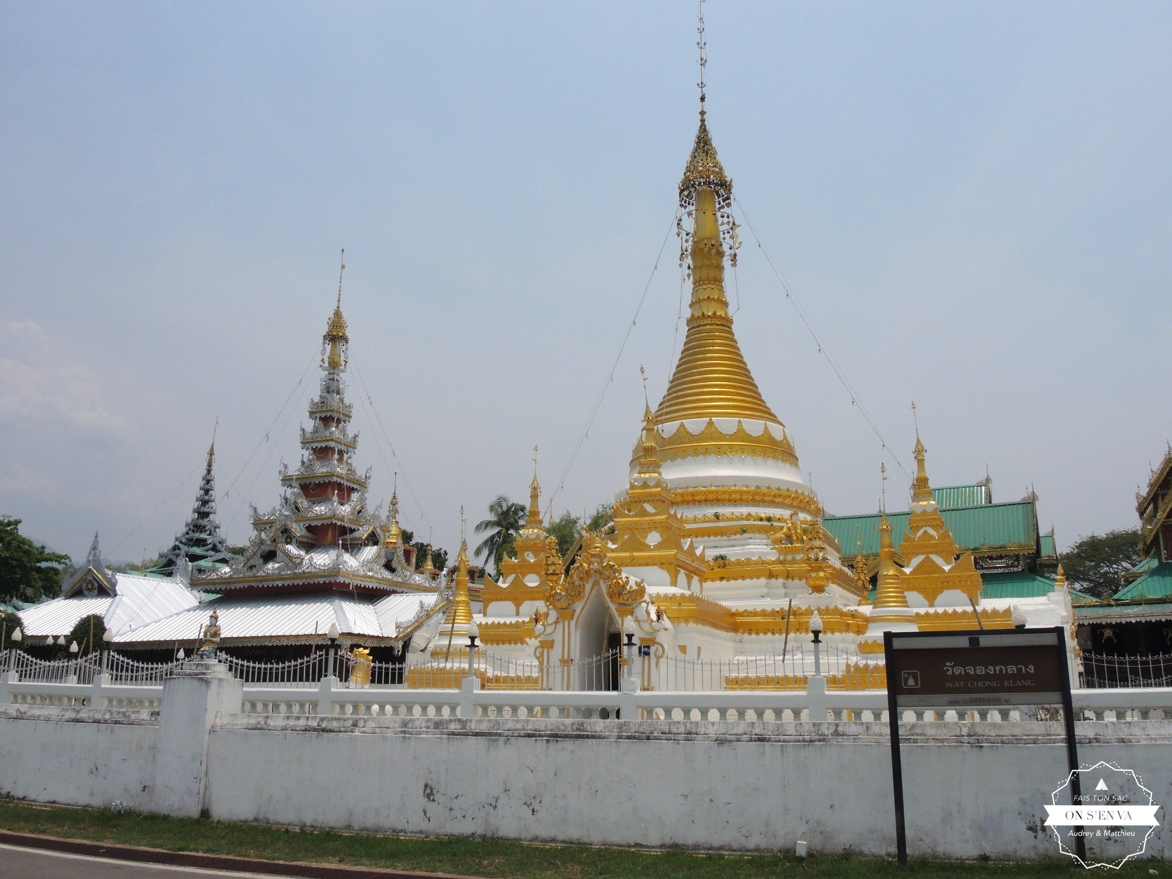 Un des temples de la ville