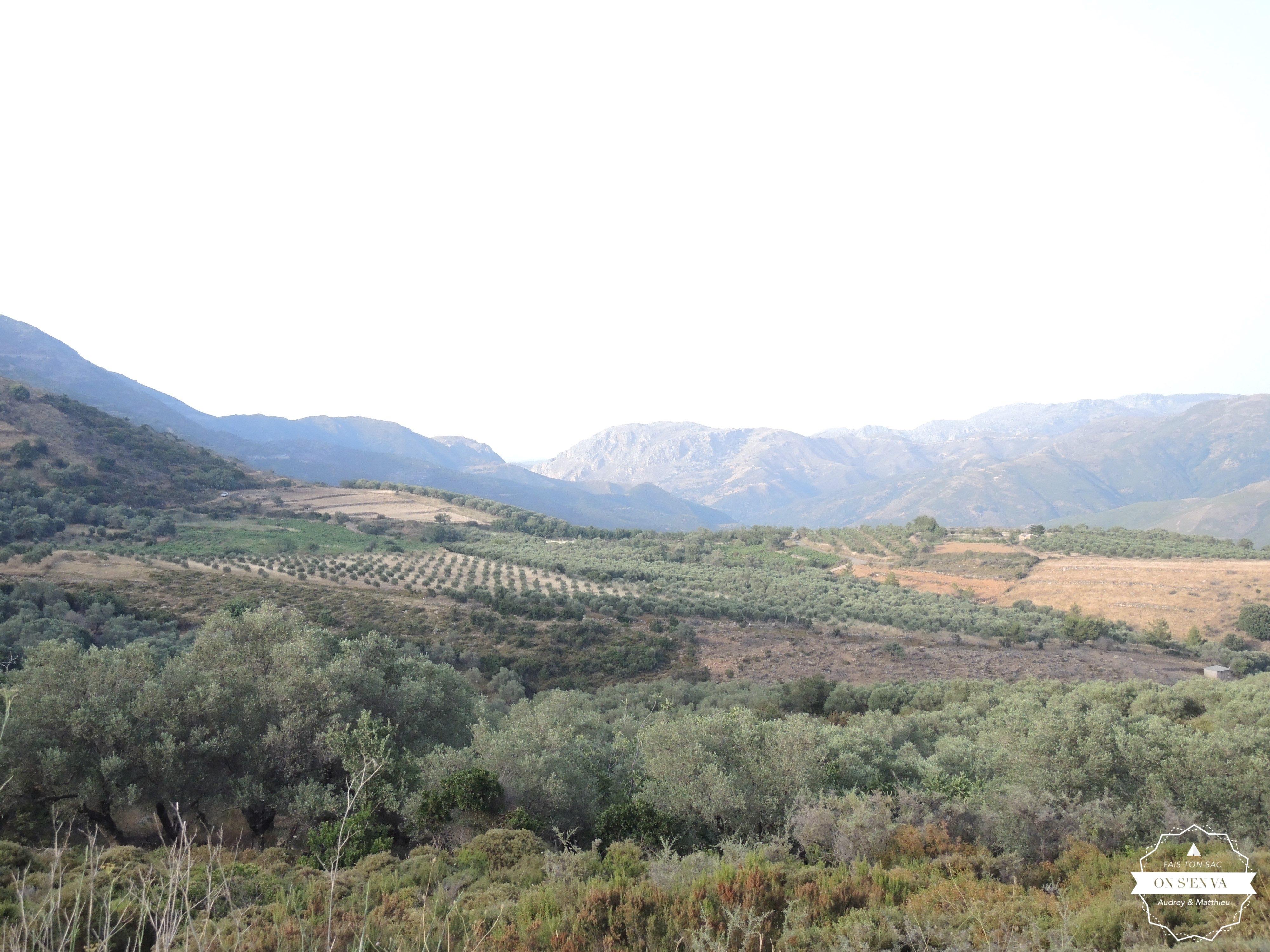 Entre La Canée et Elafonissi