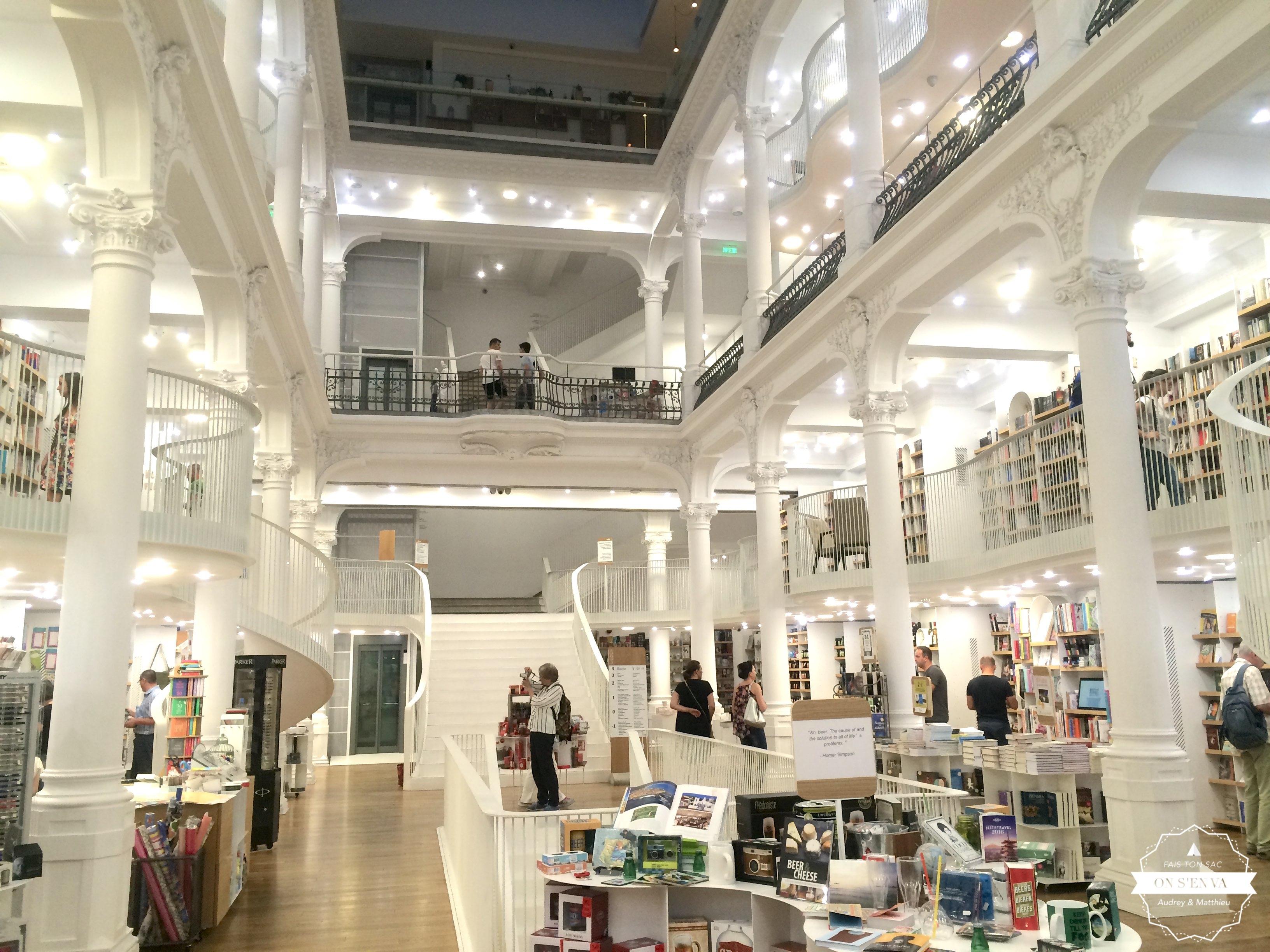 LA librairie où on a trouvé le guide