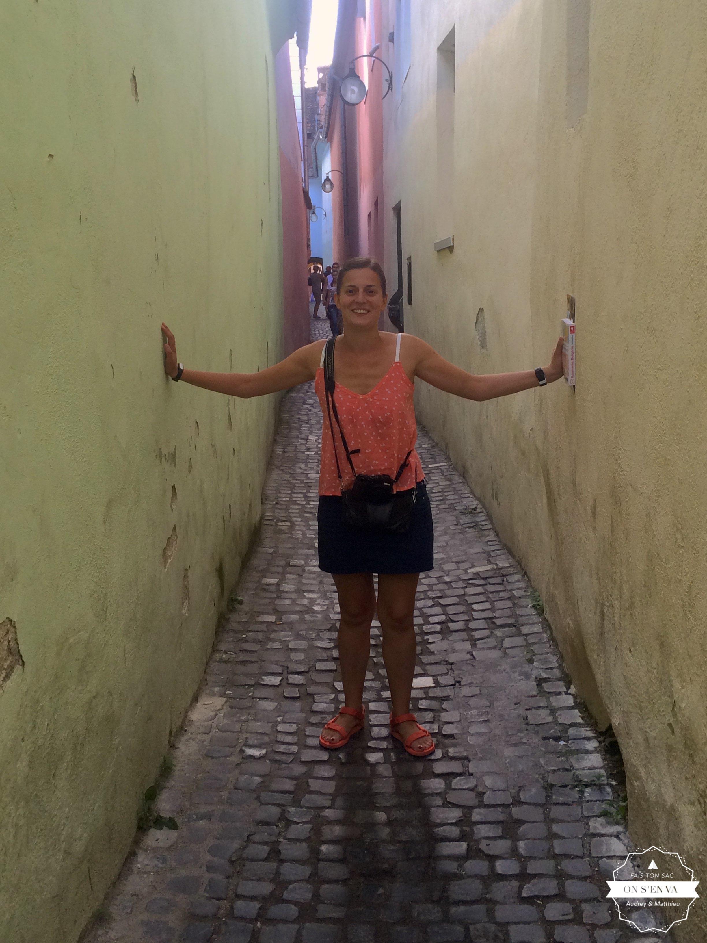 La rue de la ficelle, pas très large