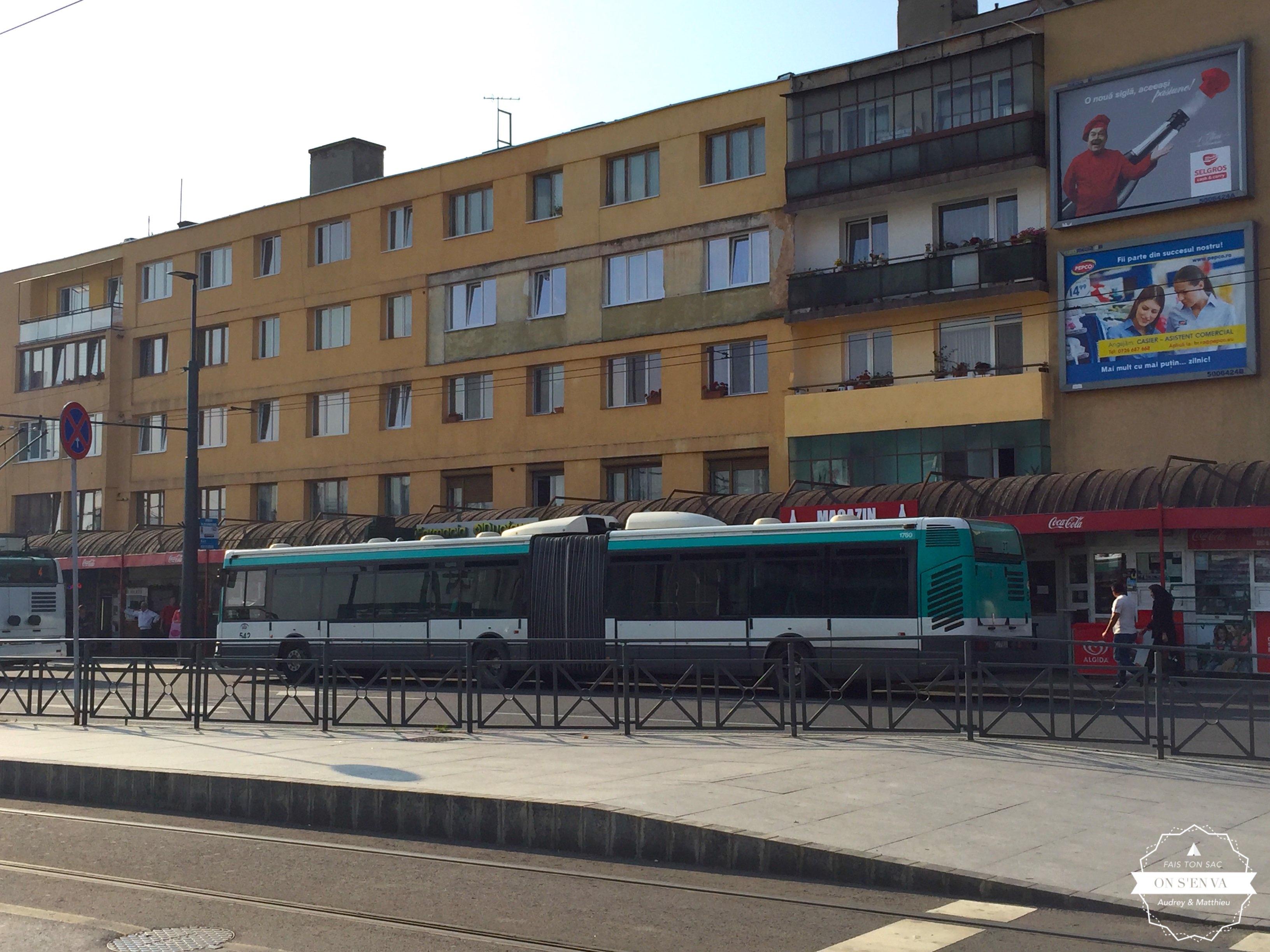 La RATP dans les rues de Cluj