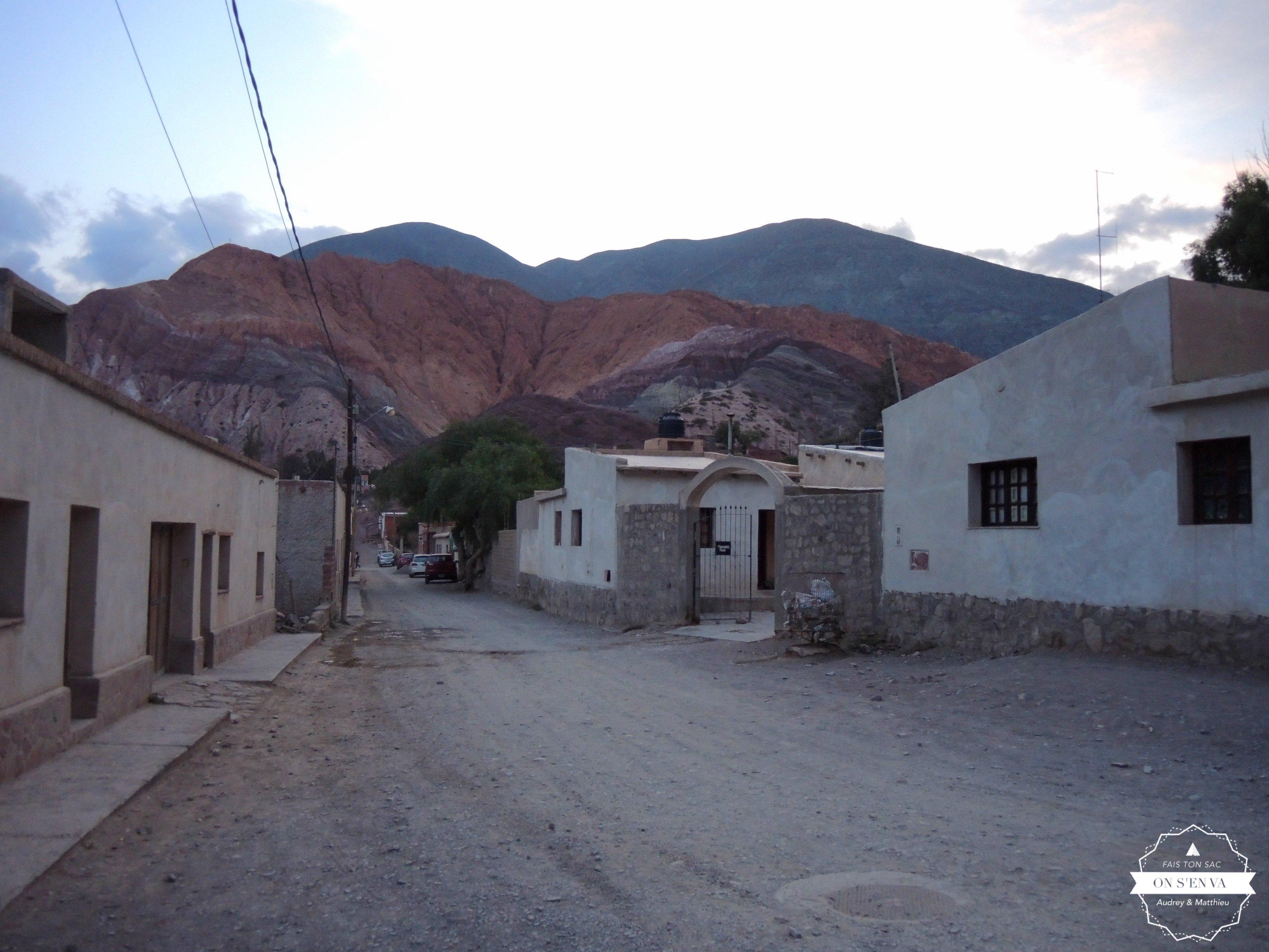 Première étape à Purmamarca
