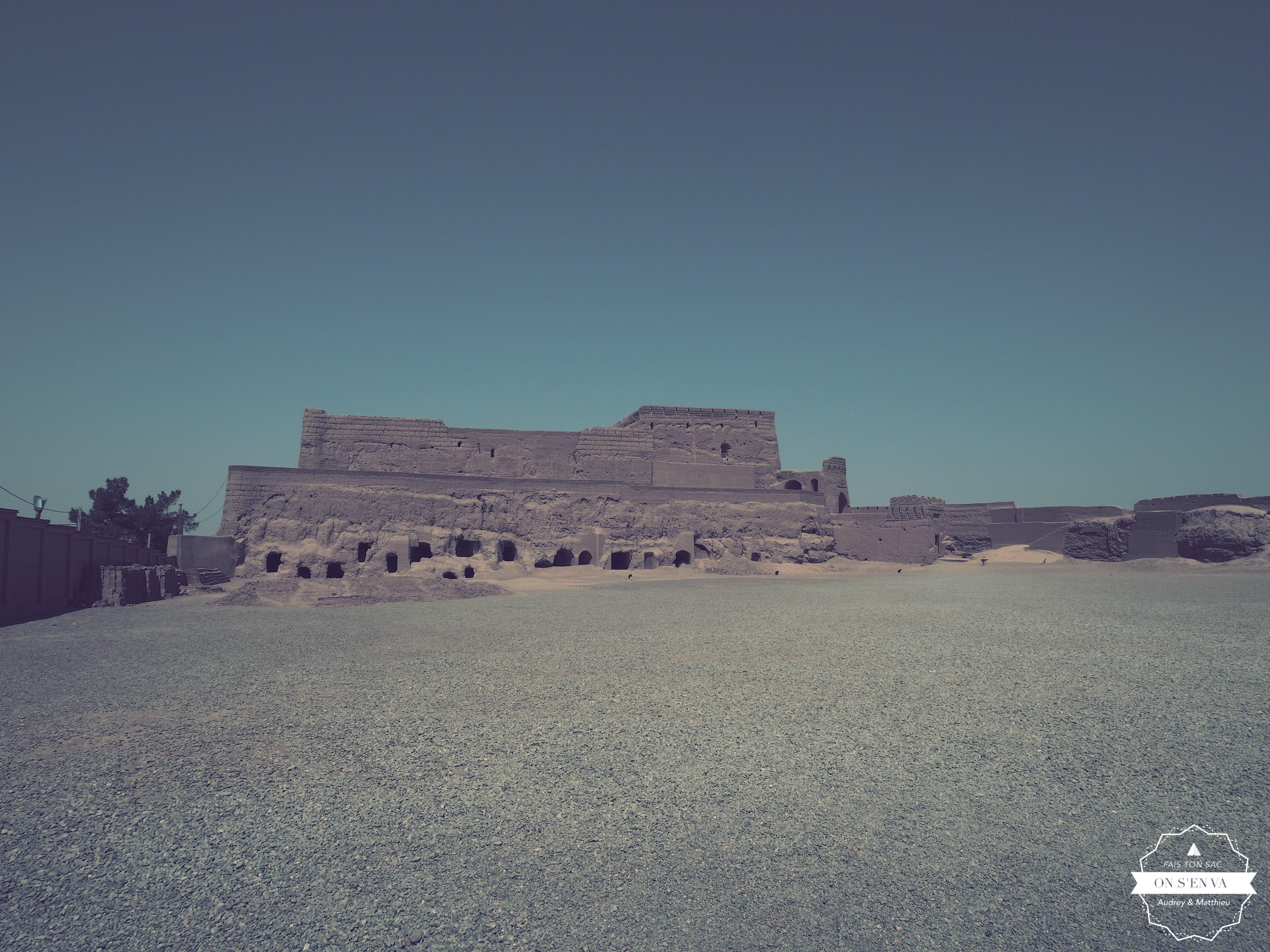 Le chateau de Meybod
