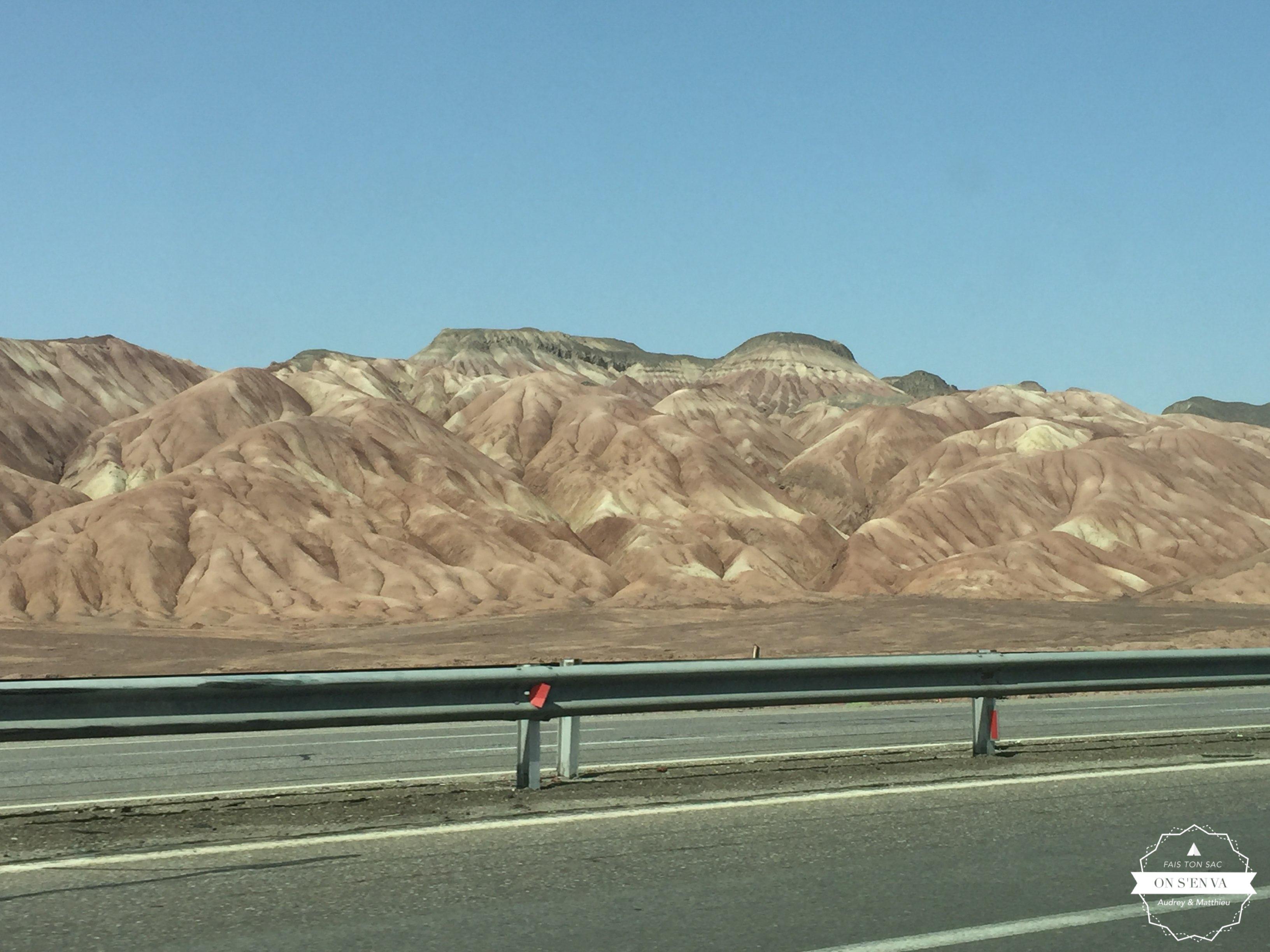 Sur la route vers Téhéran