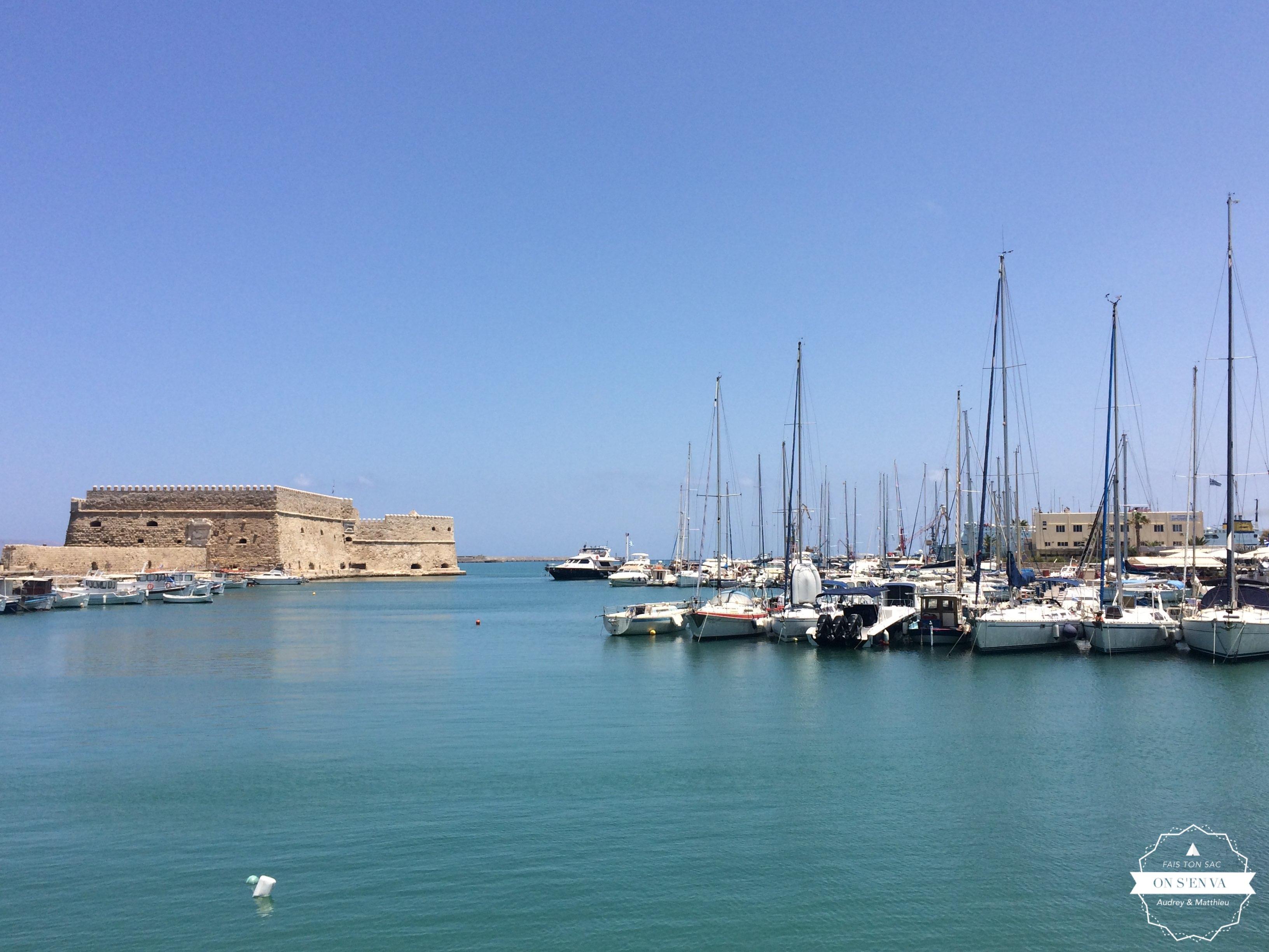 Le port d'Heraklion