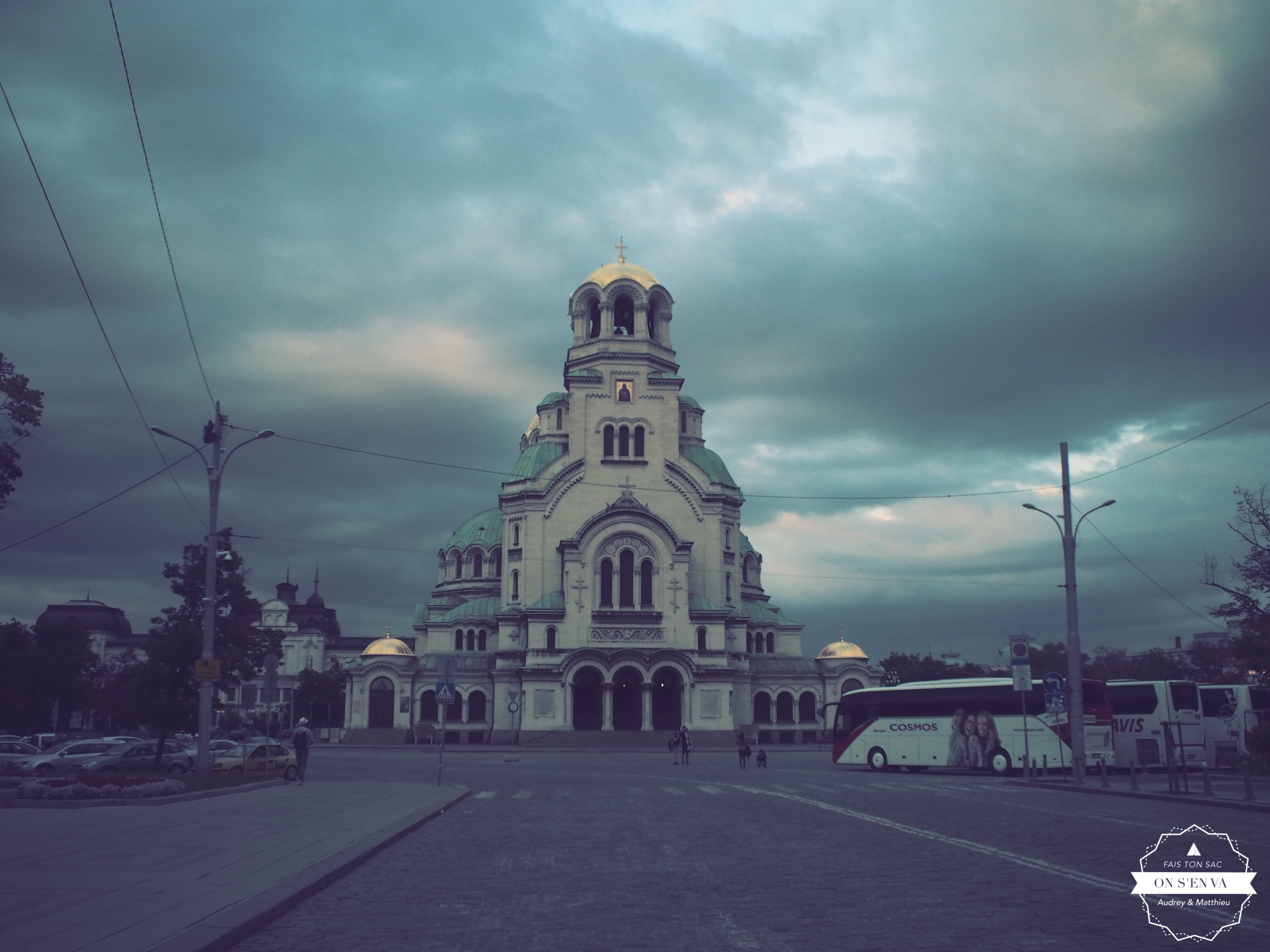 Arrivée à Sofia, Alexandre Nevski