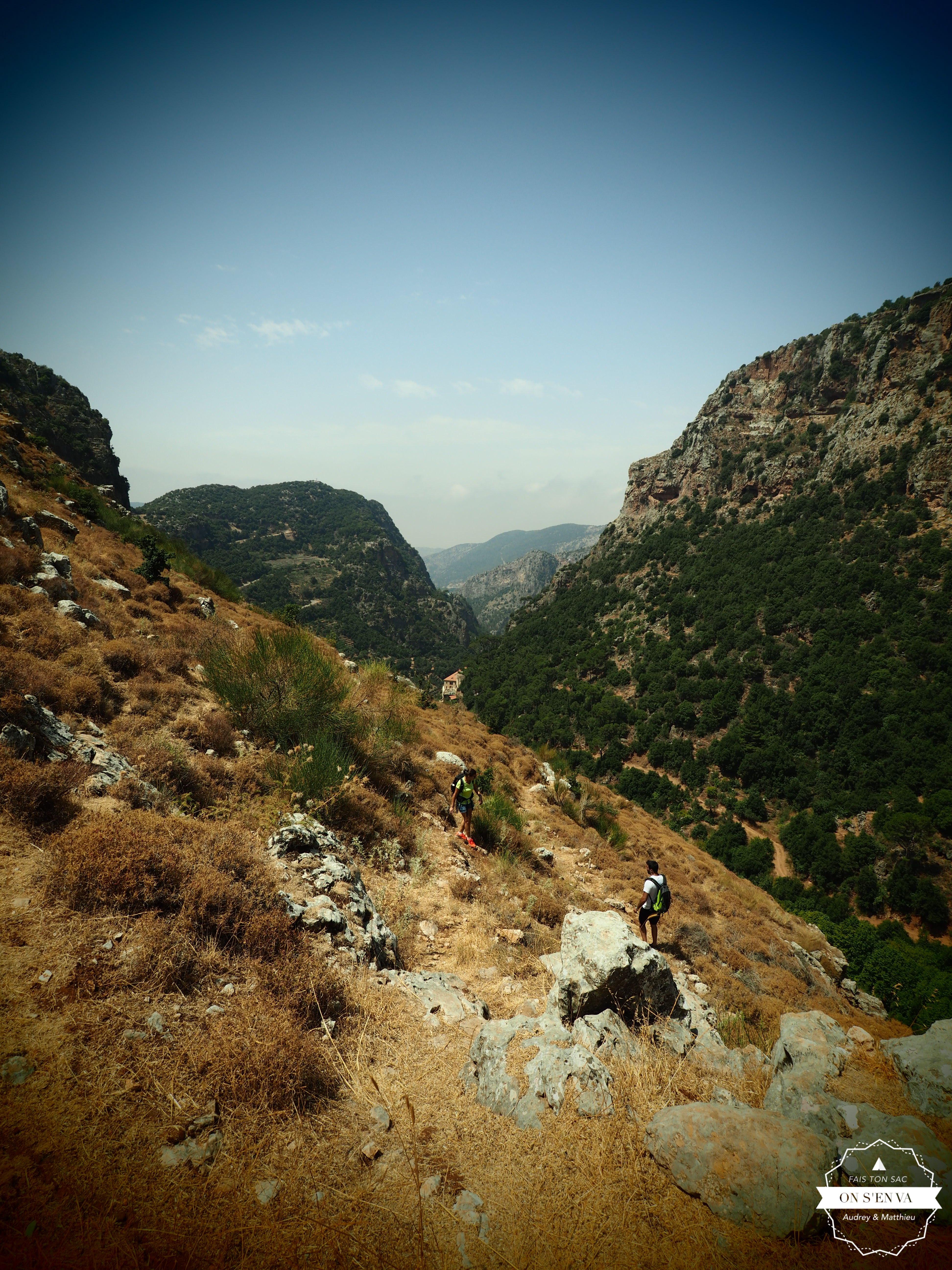 Randonnée dans la montagne