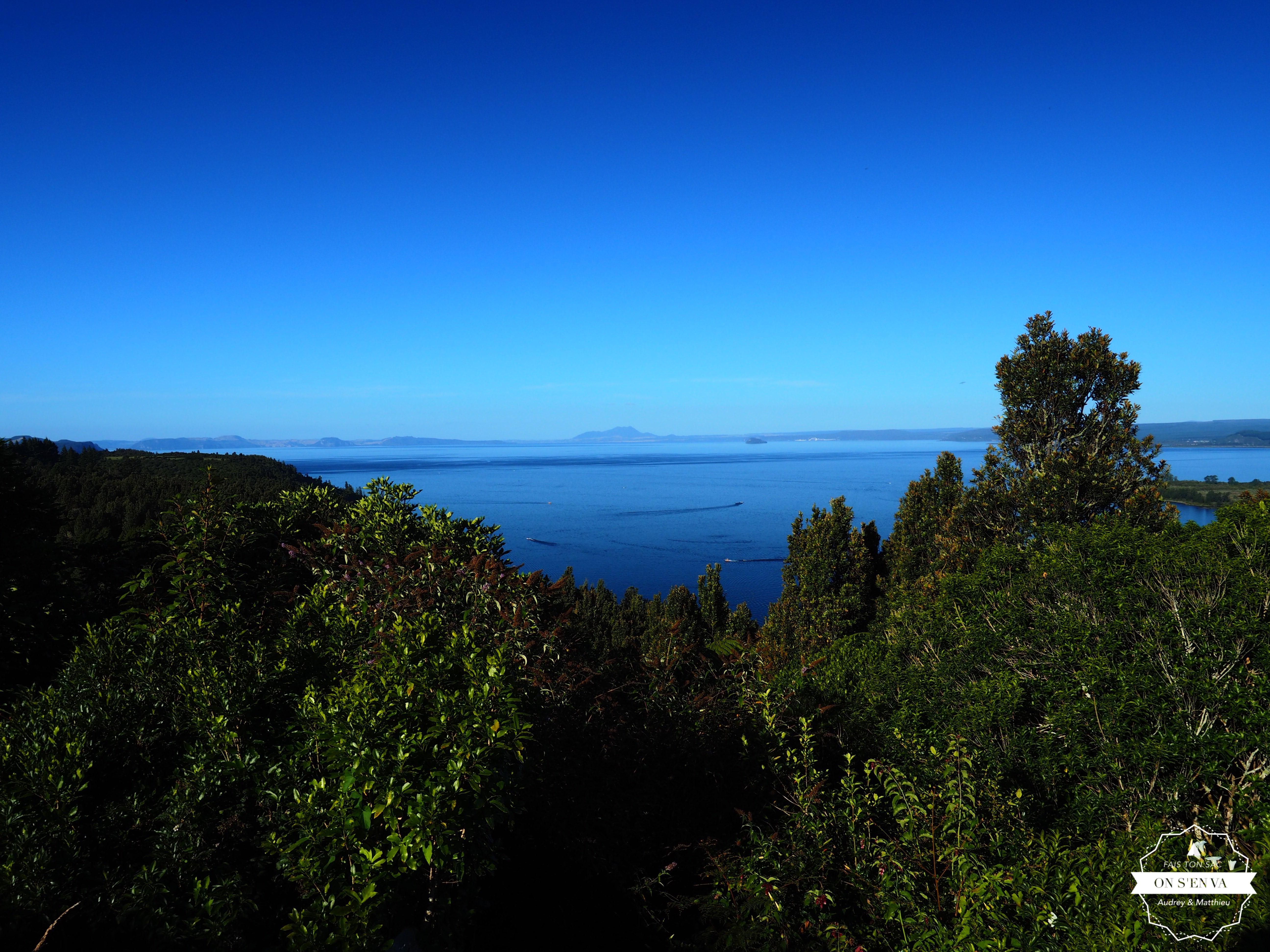 Arrivée près du Tongariro