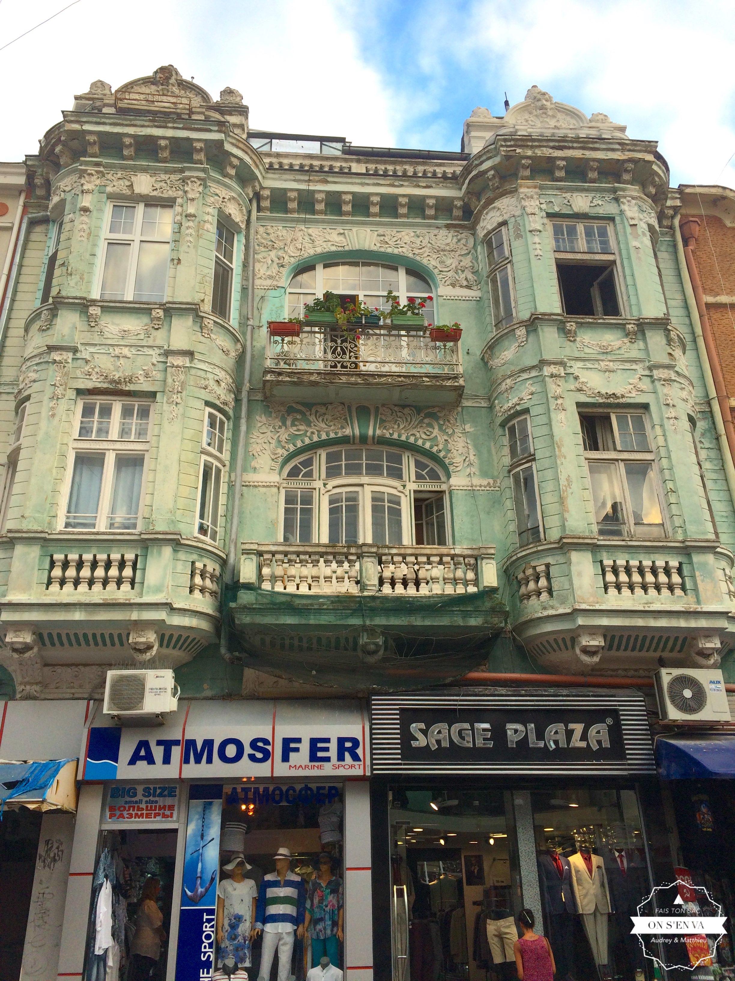 Les immeubles de Varna