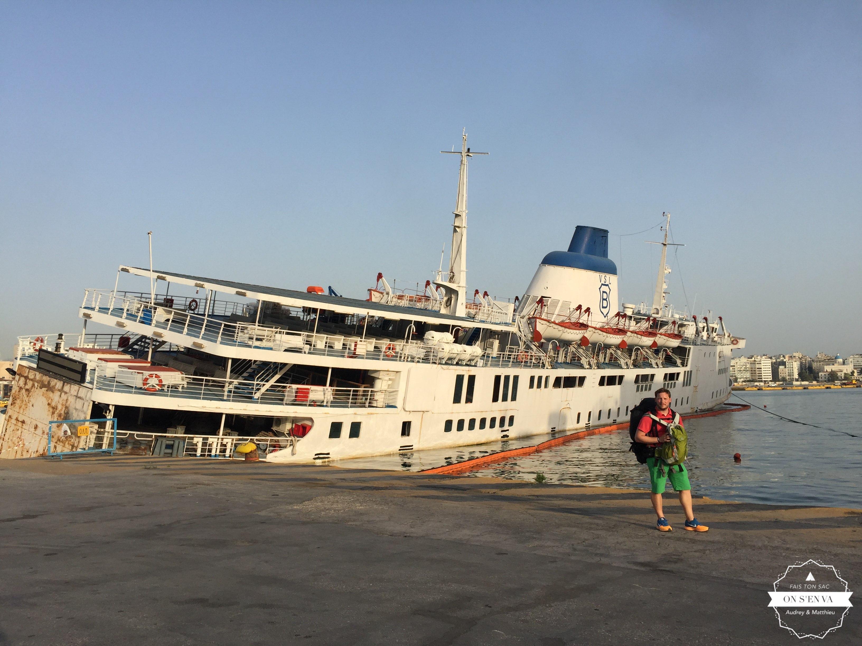 Port du Pirée, Athènes