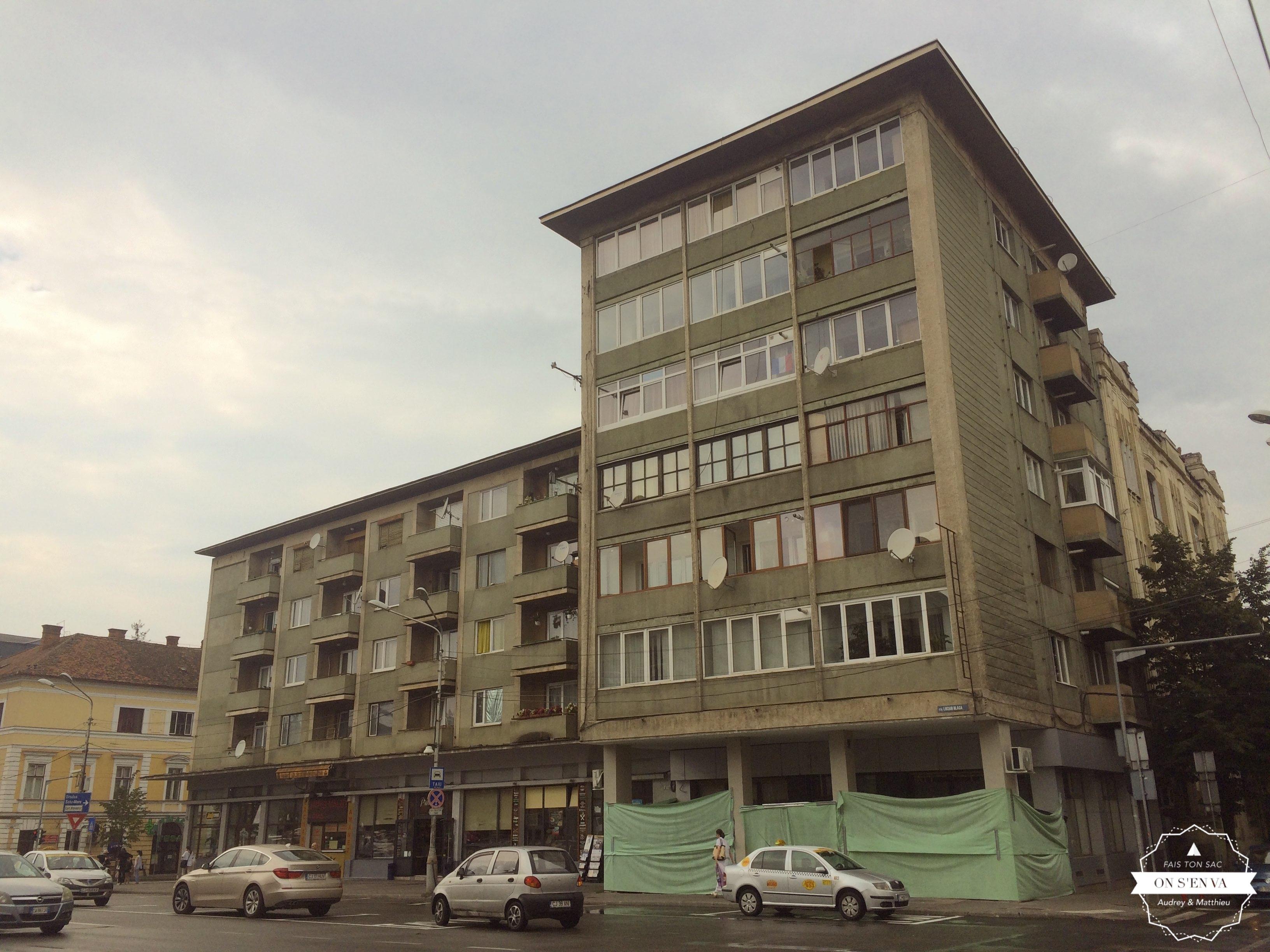 Immeuble de l'époque communiste