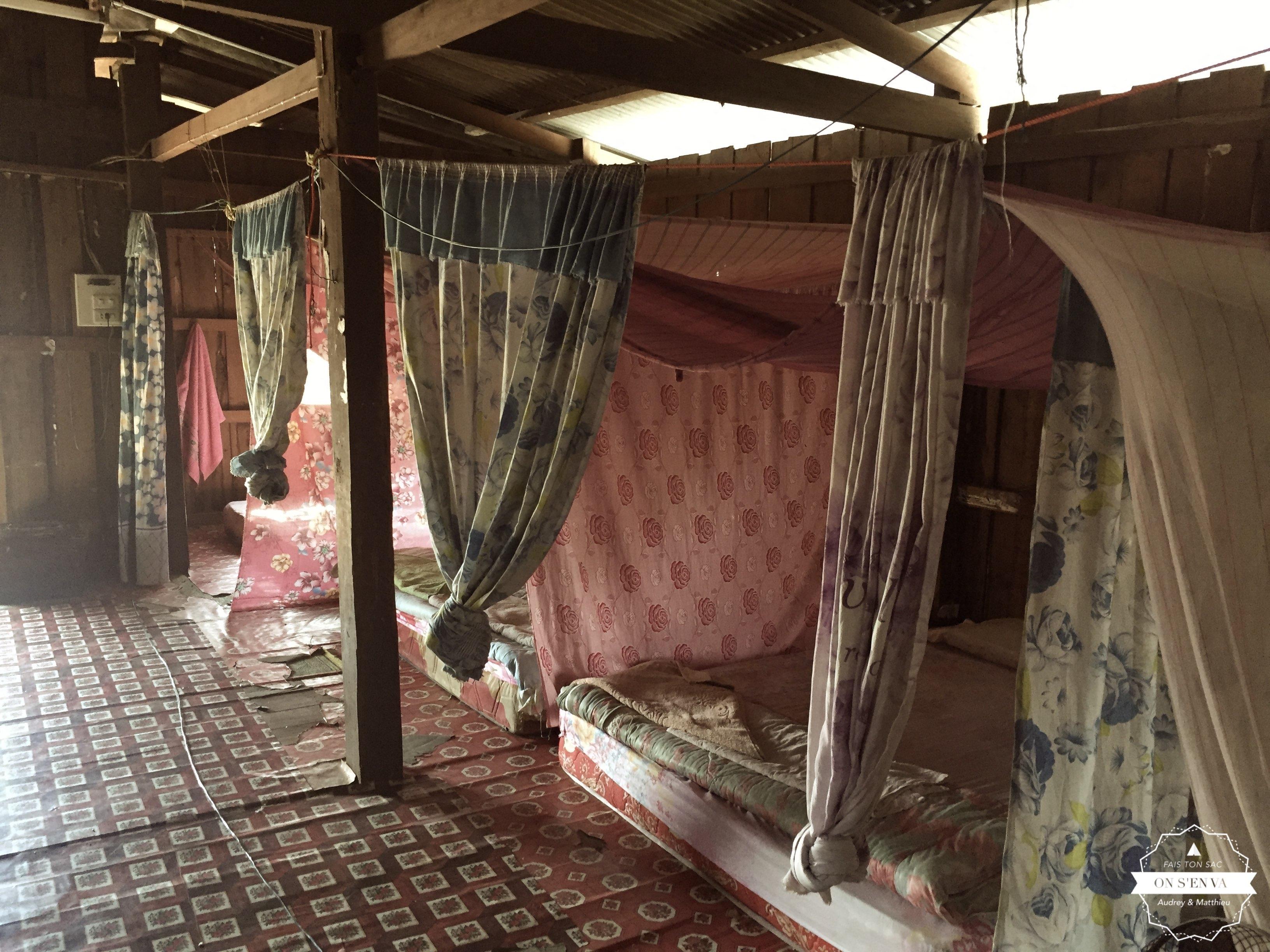 Le fameux dortoir aux rats...