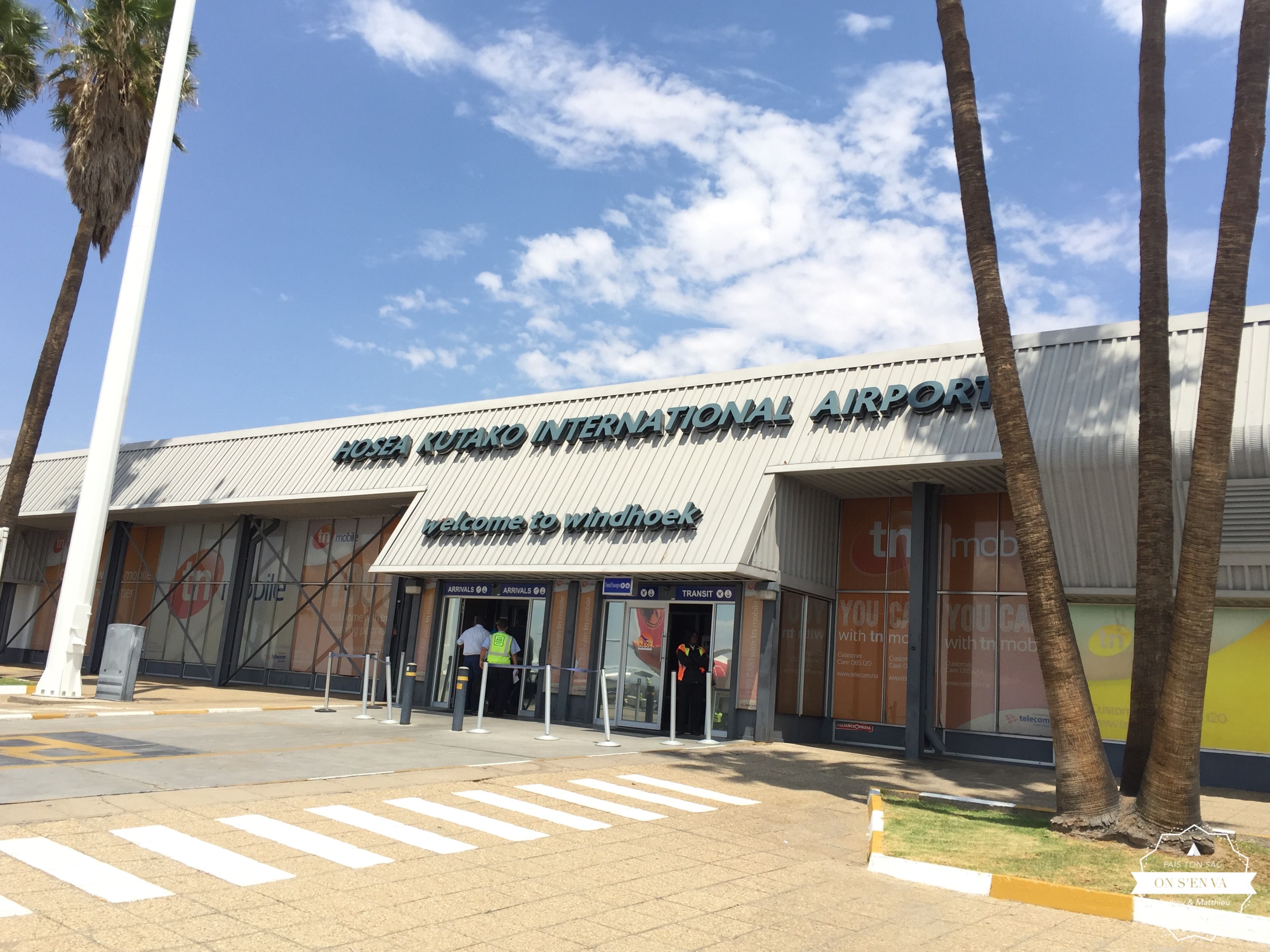 "Le ""grand"" aéroport de Windhoek"