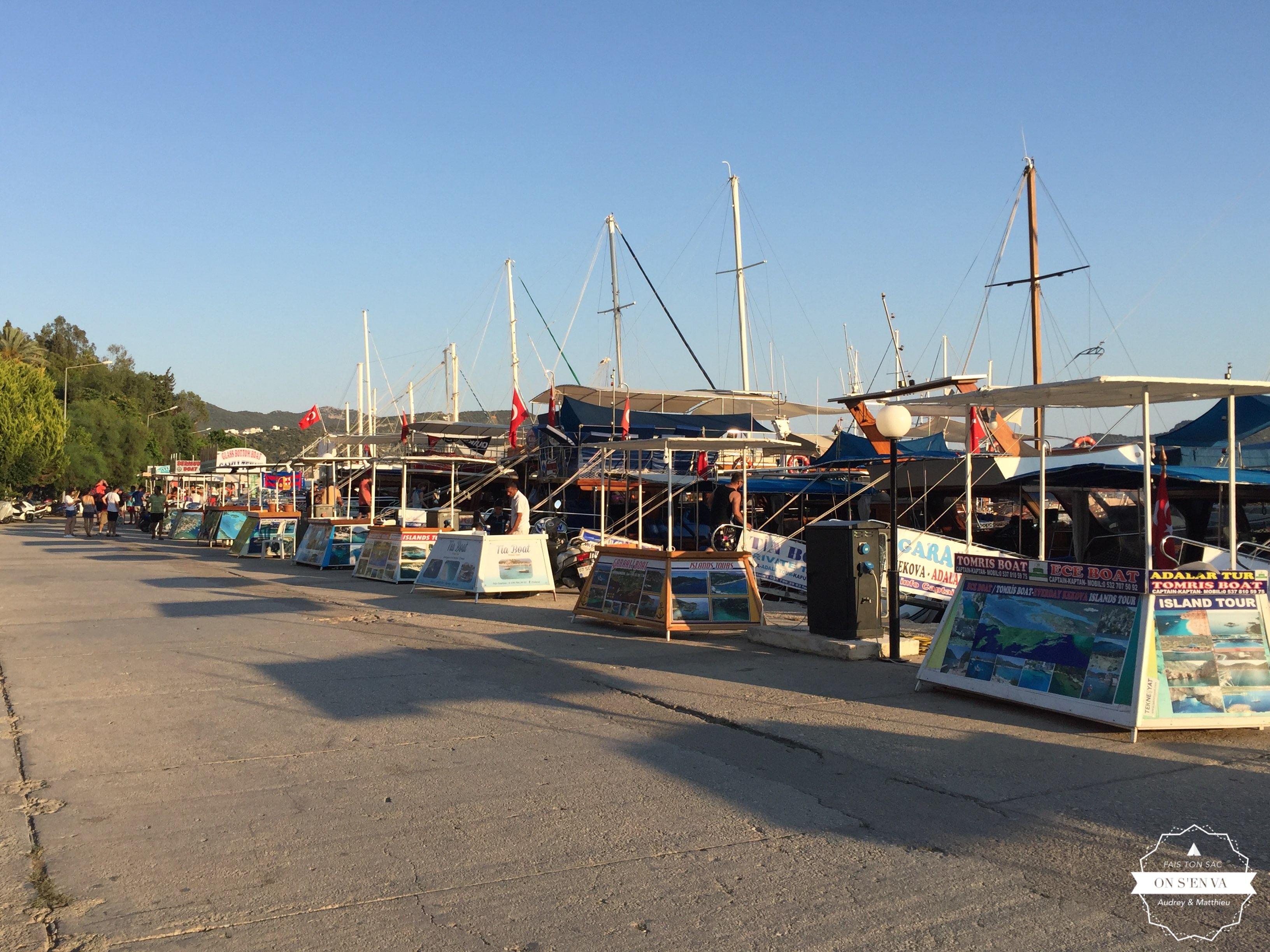 Le port de Kas