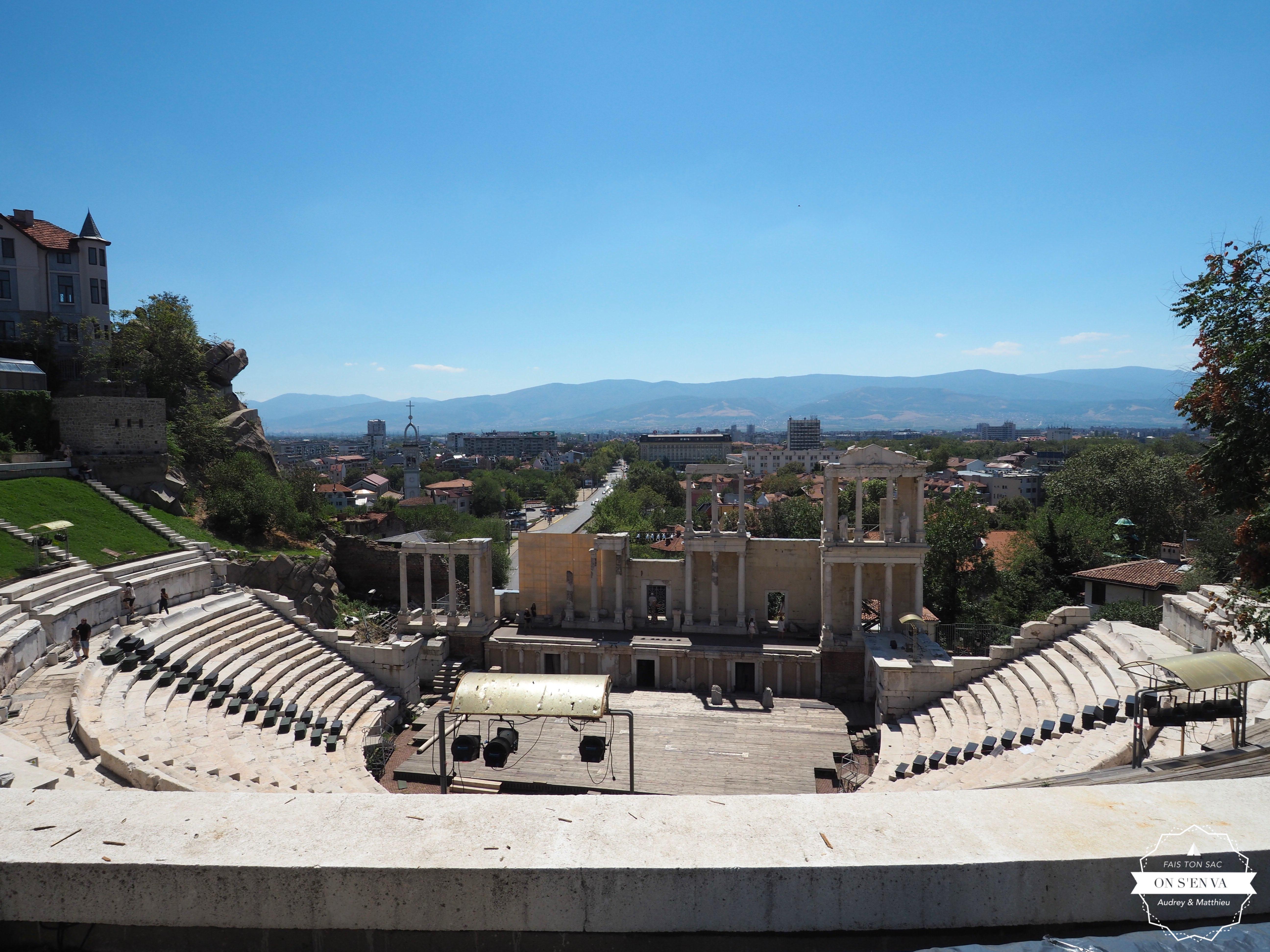 Théâtre romain, Plovdiv