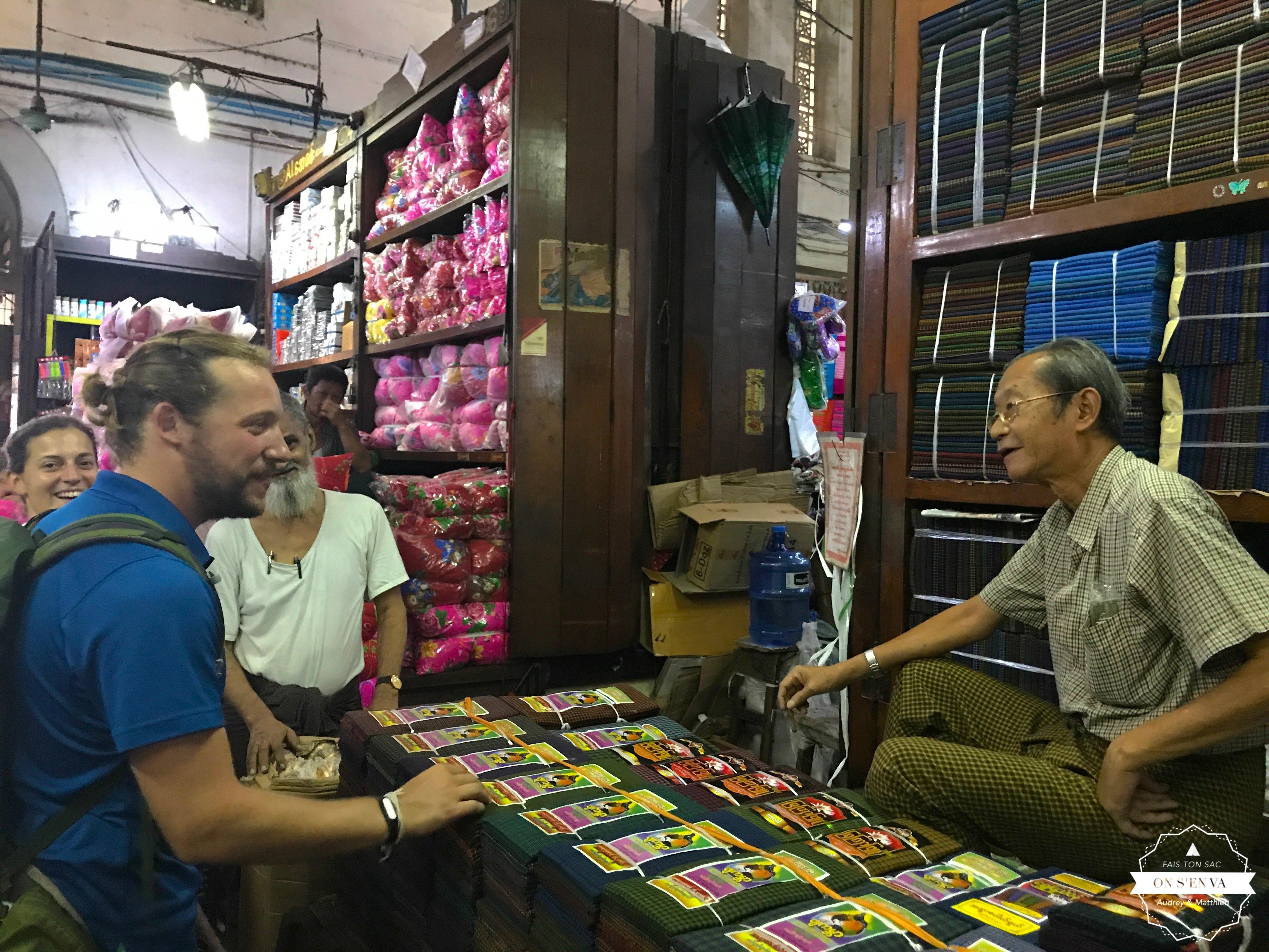 Matthieu et le vendeur de longhi