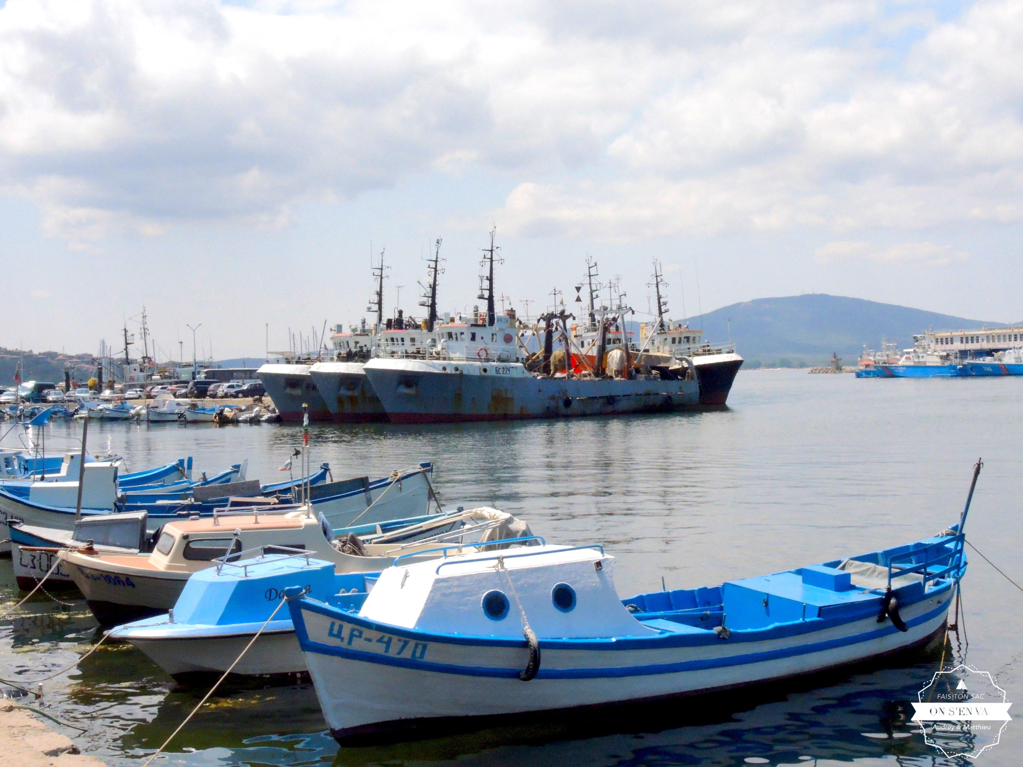 Le port de Sozopol