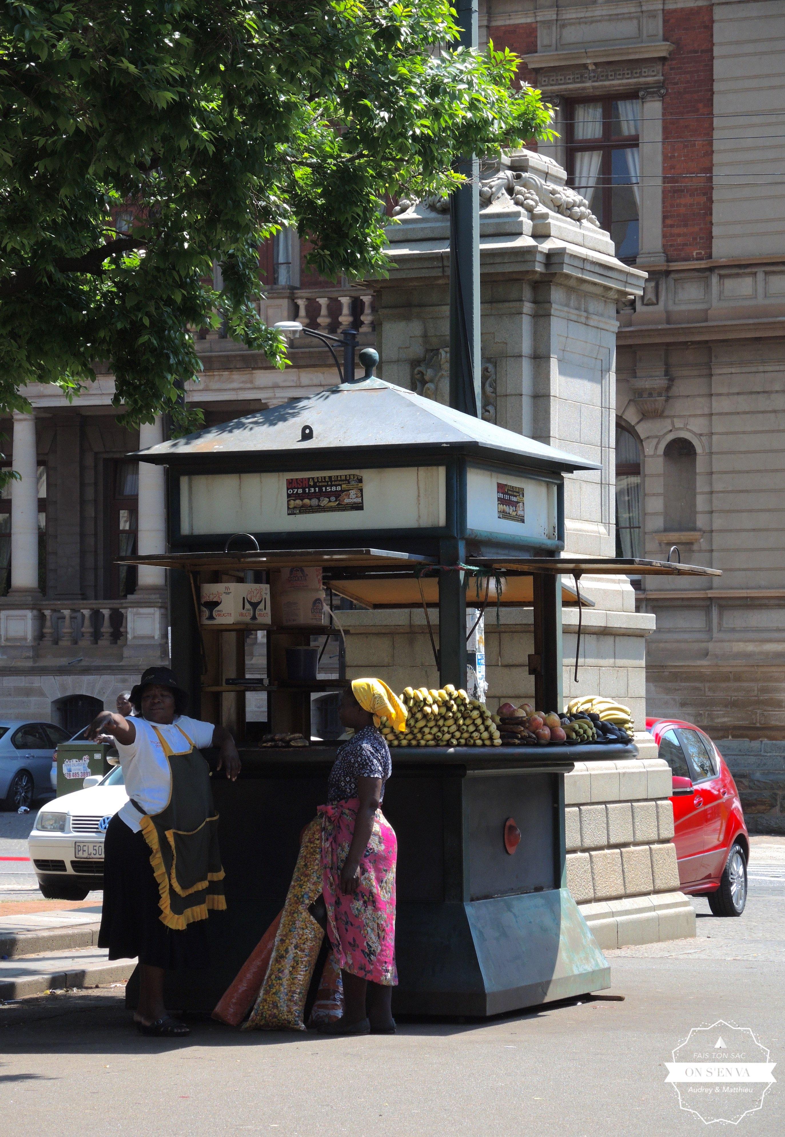 Kiosque sur Church Square