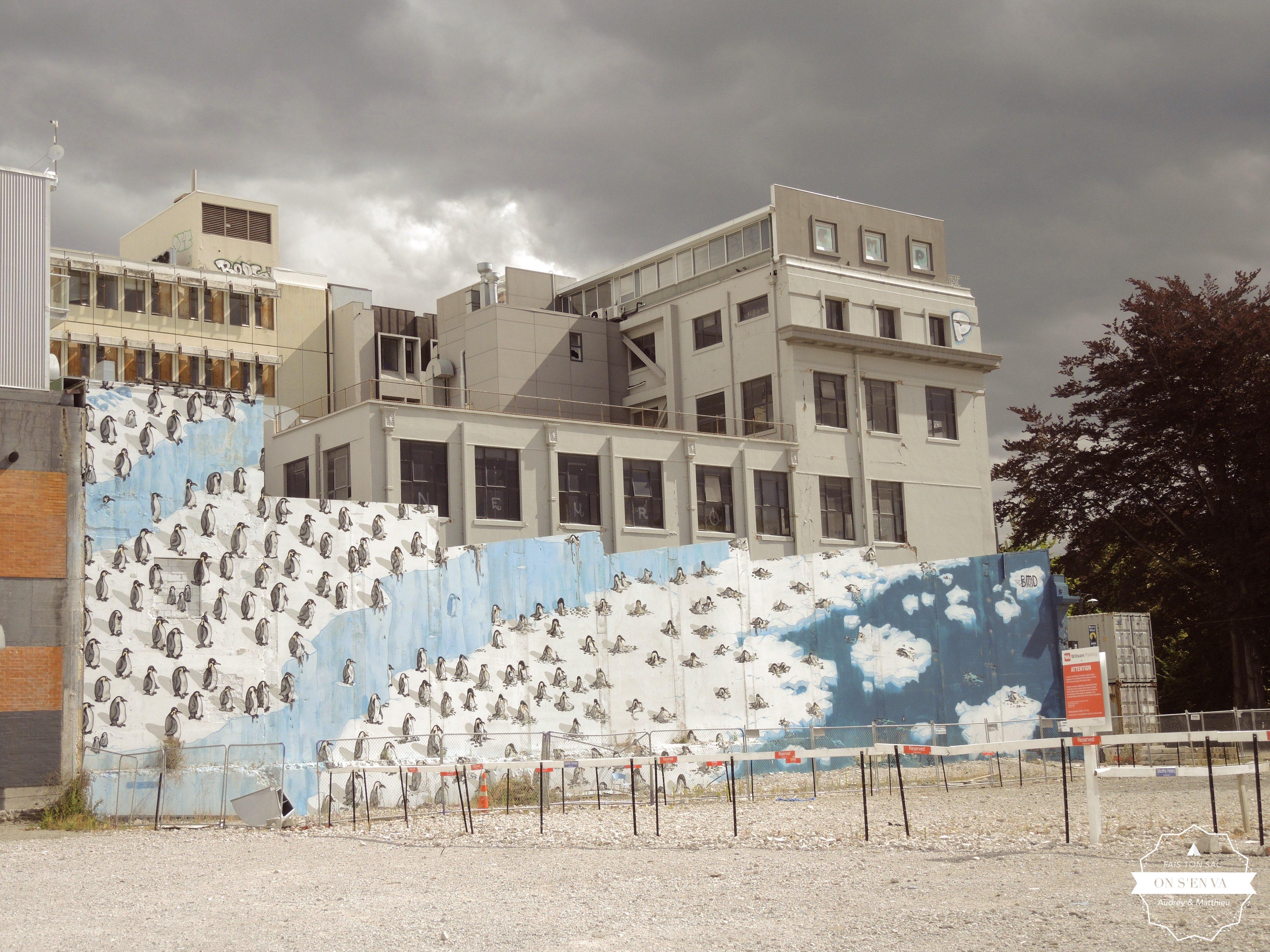 Christchurch et son street art