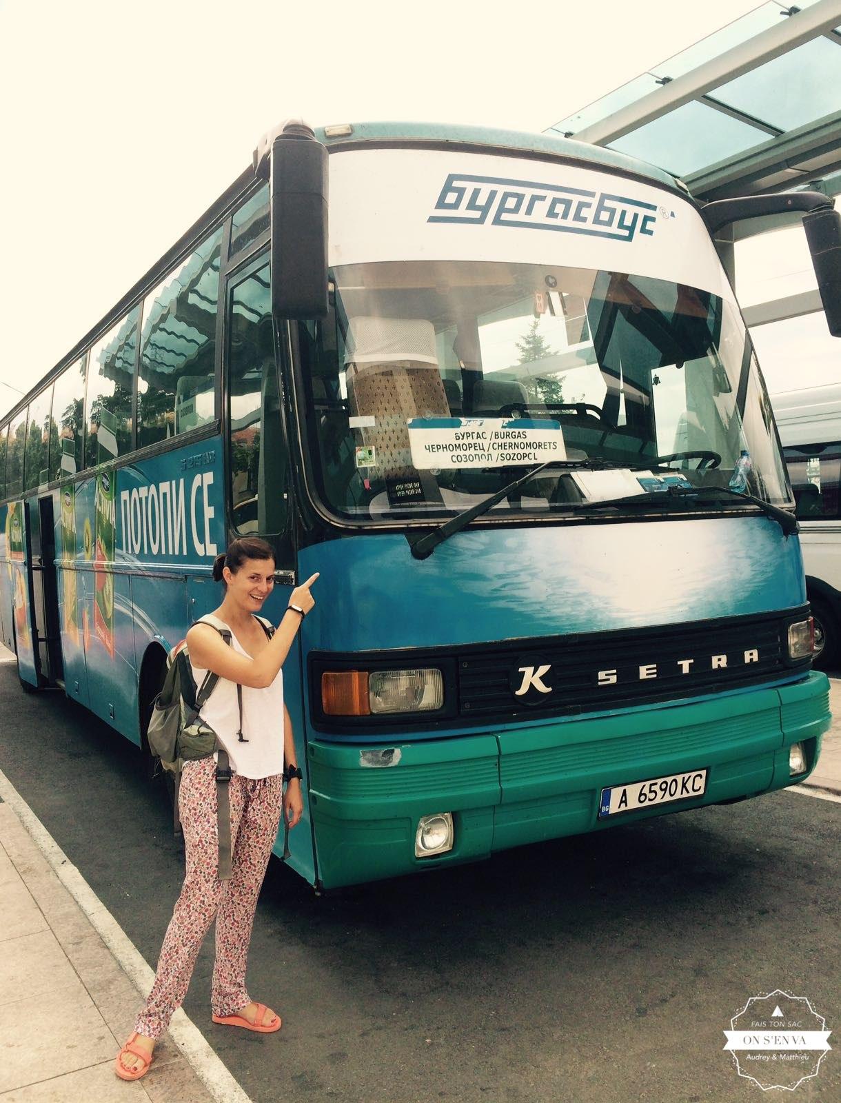 En route pour Sozopol