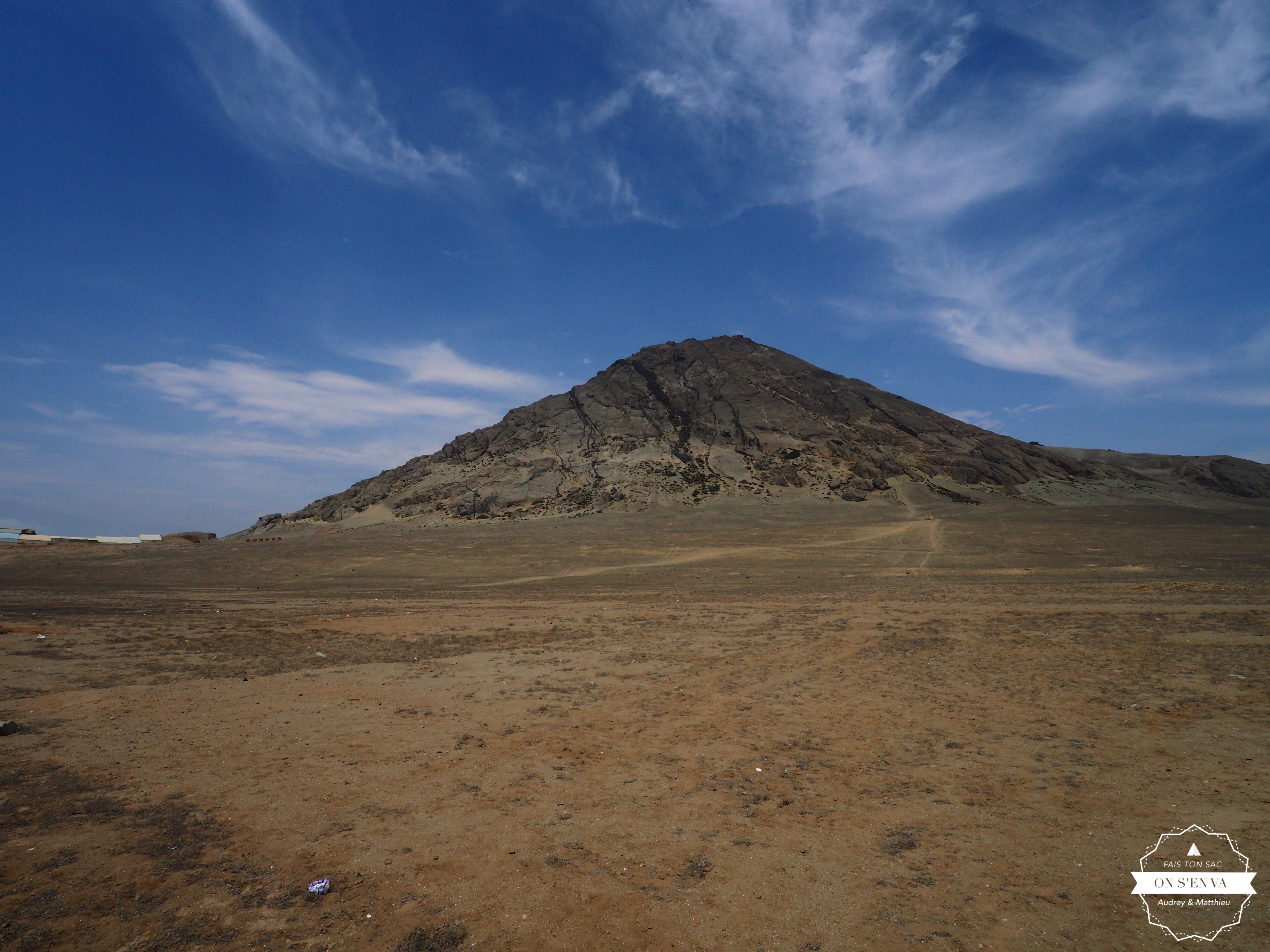 Huaca del Sol (pas encore fouillée)