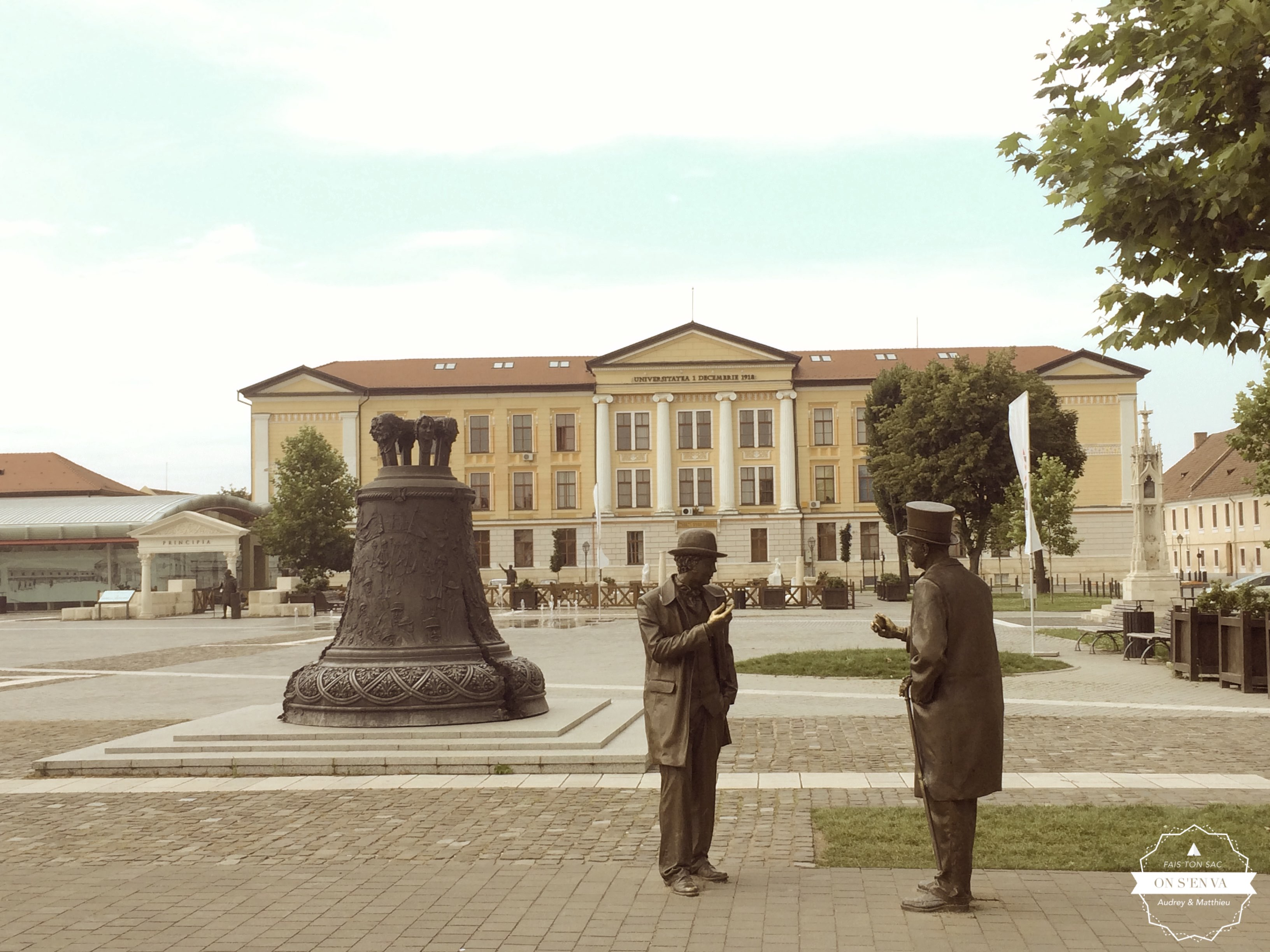 Université nichée dans la citadelle