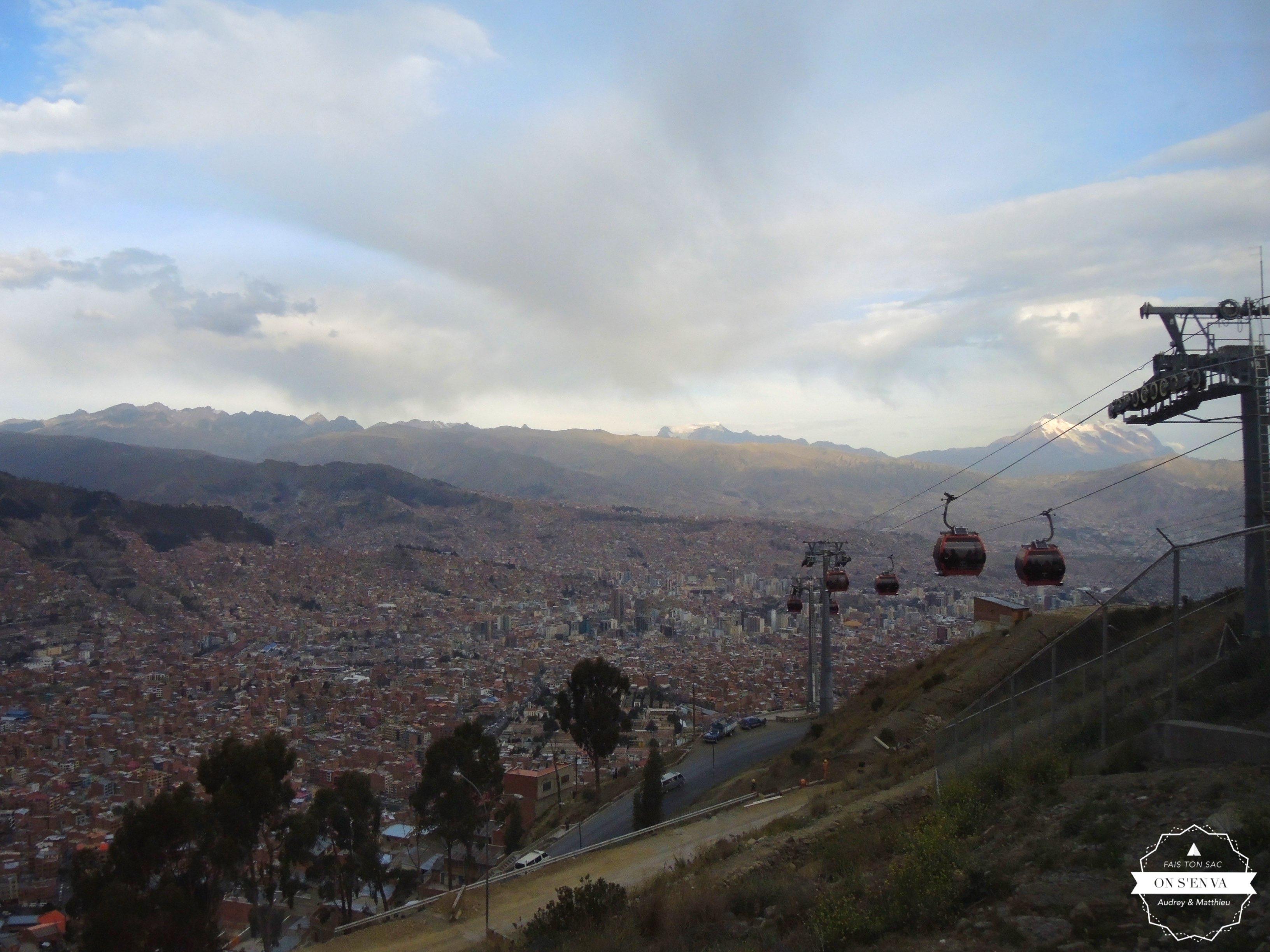 La Paz, à 3640m d'altitude