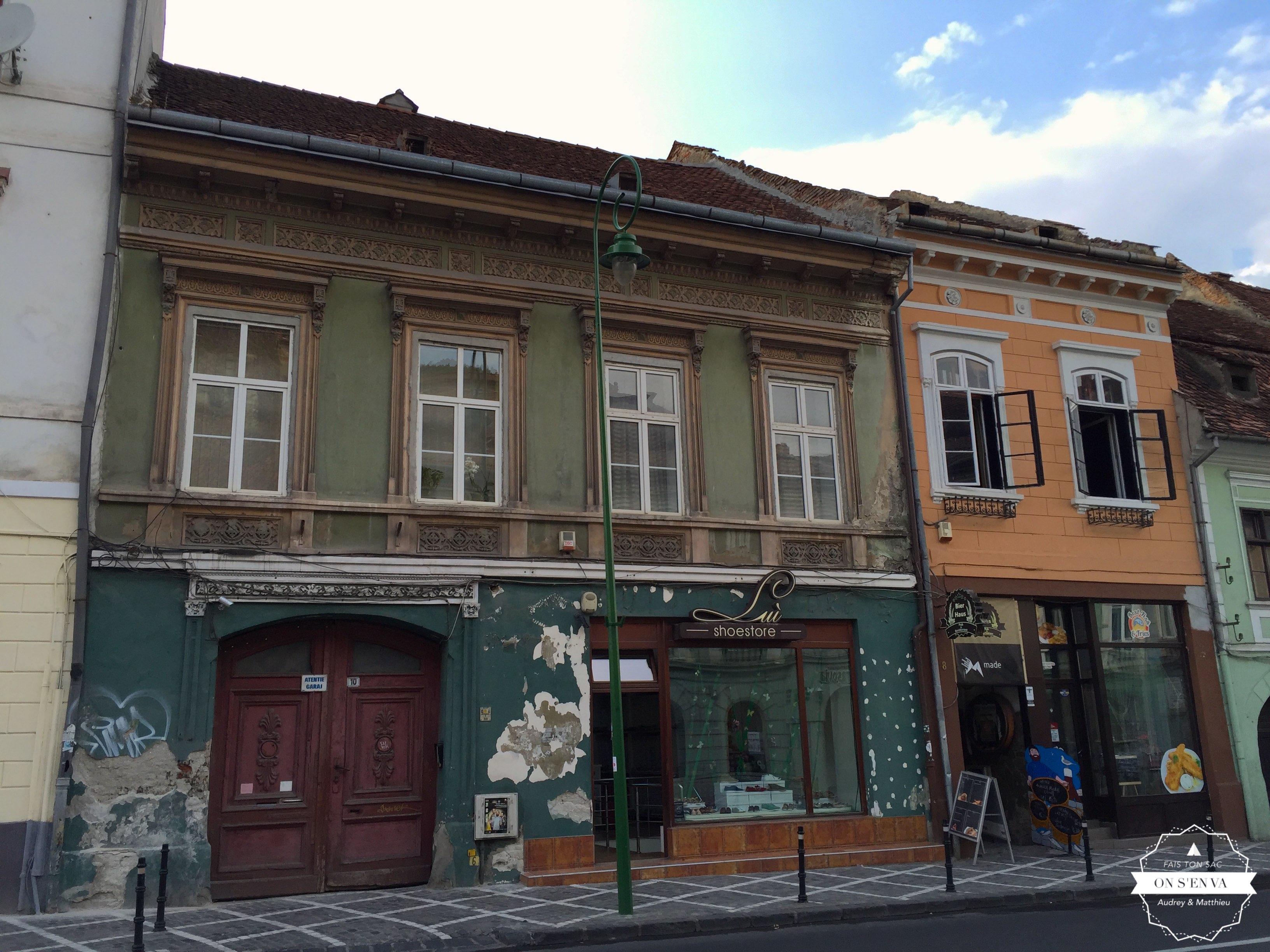 Dans les rues de Brasov
