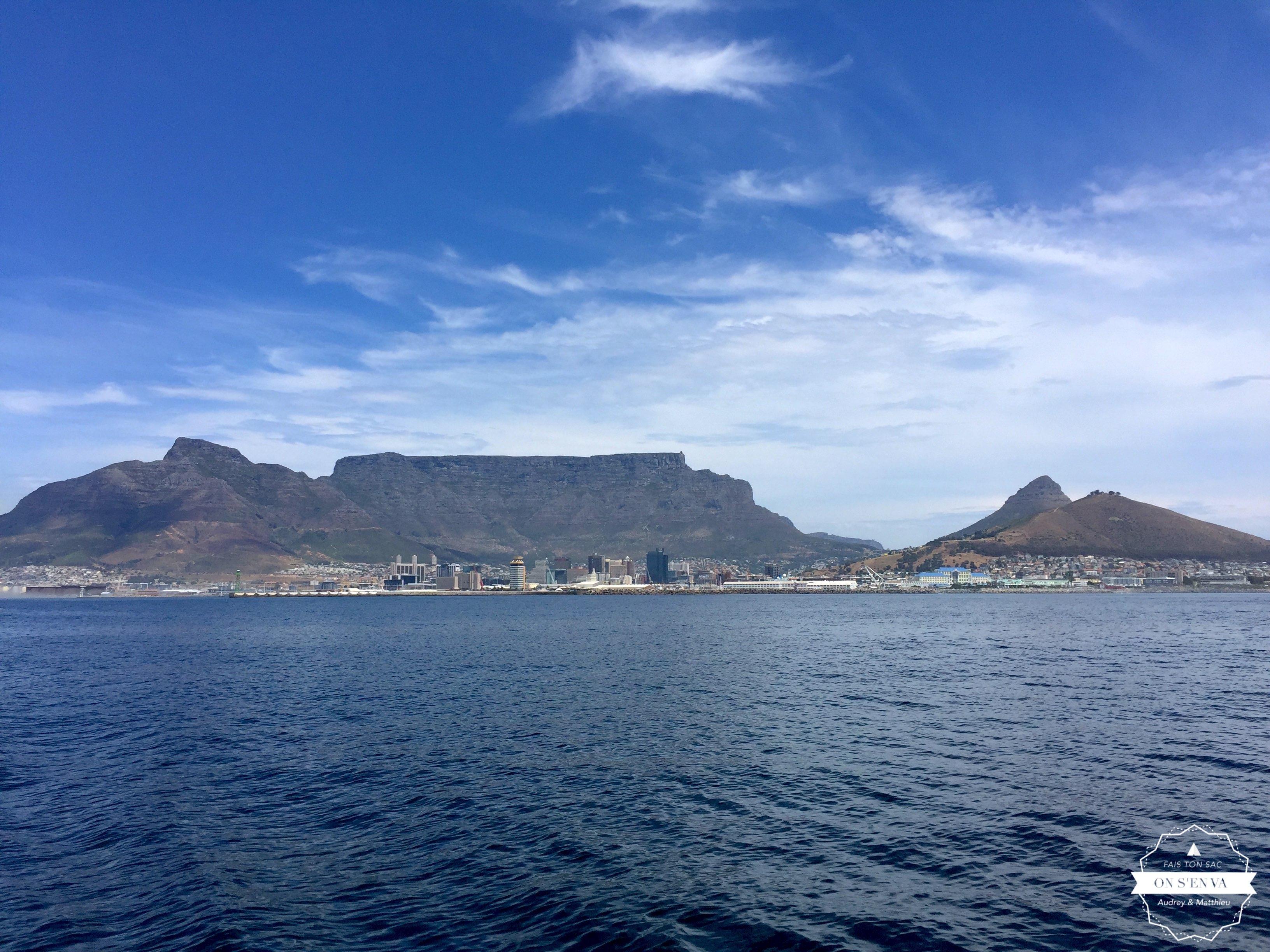 Direction Robben Island