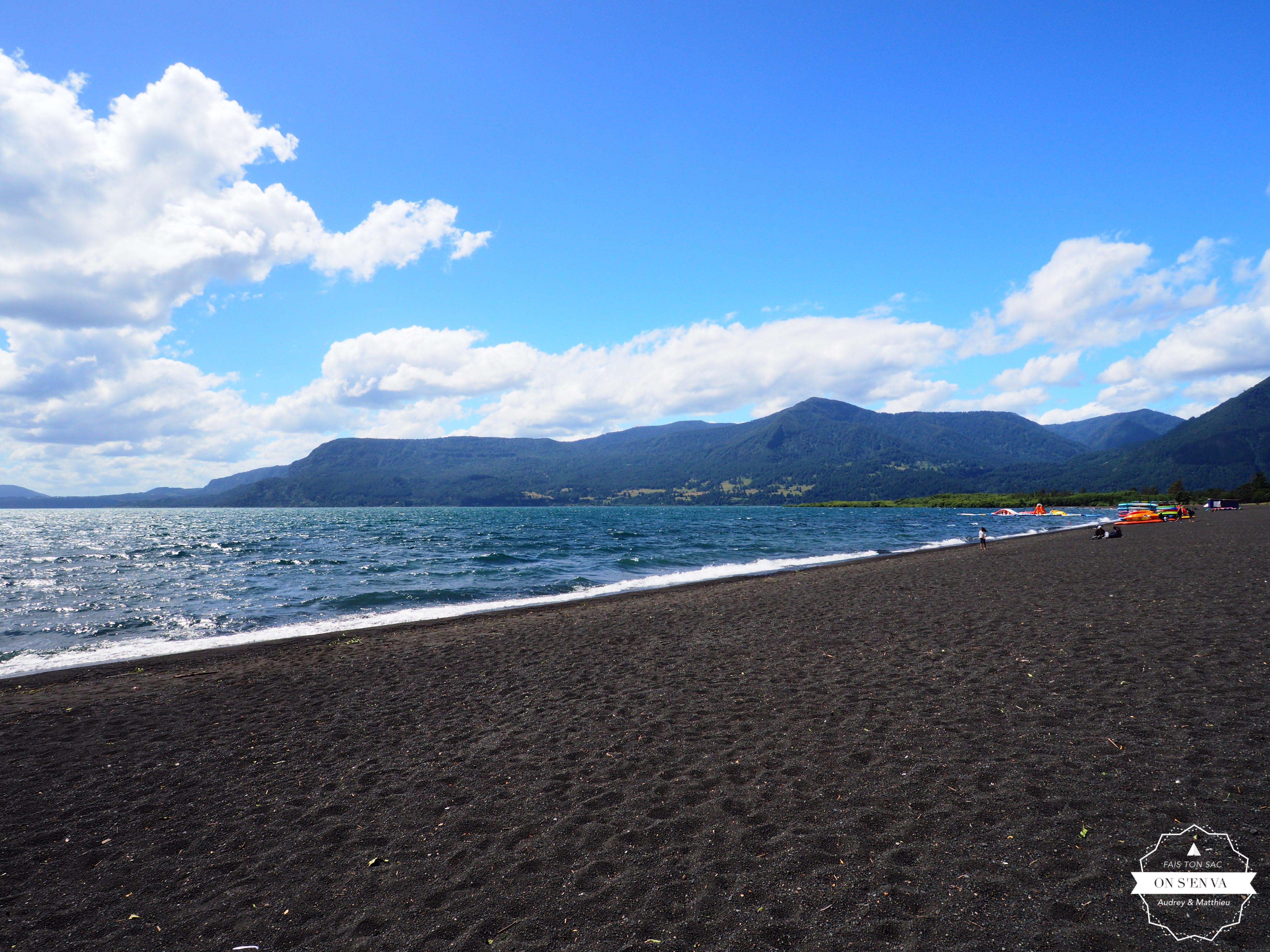 Journée plage au bord du lac...