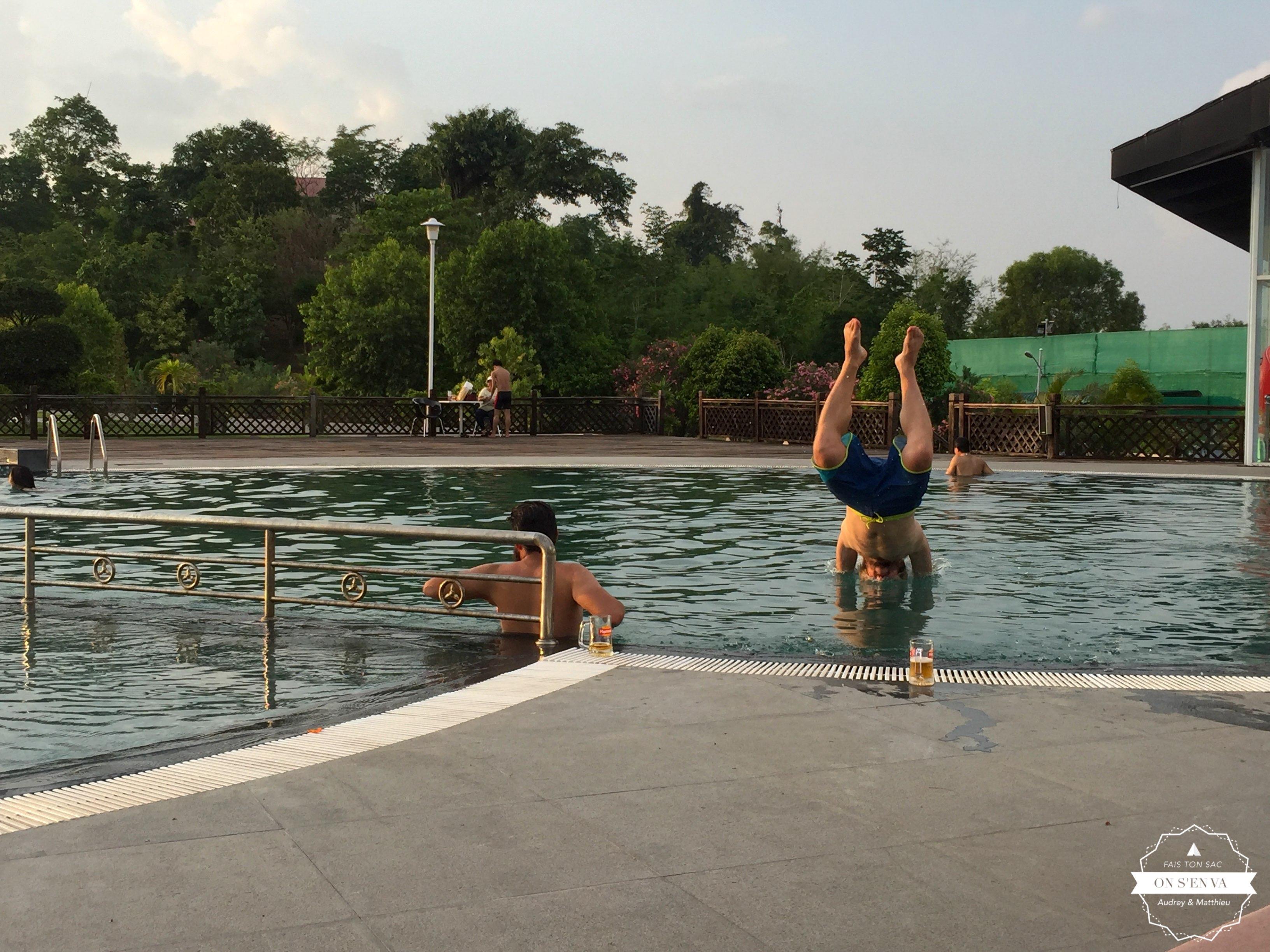 Et ses hôtels avec piscine!
