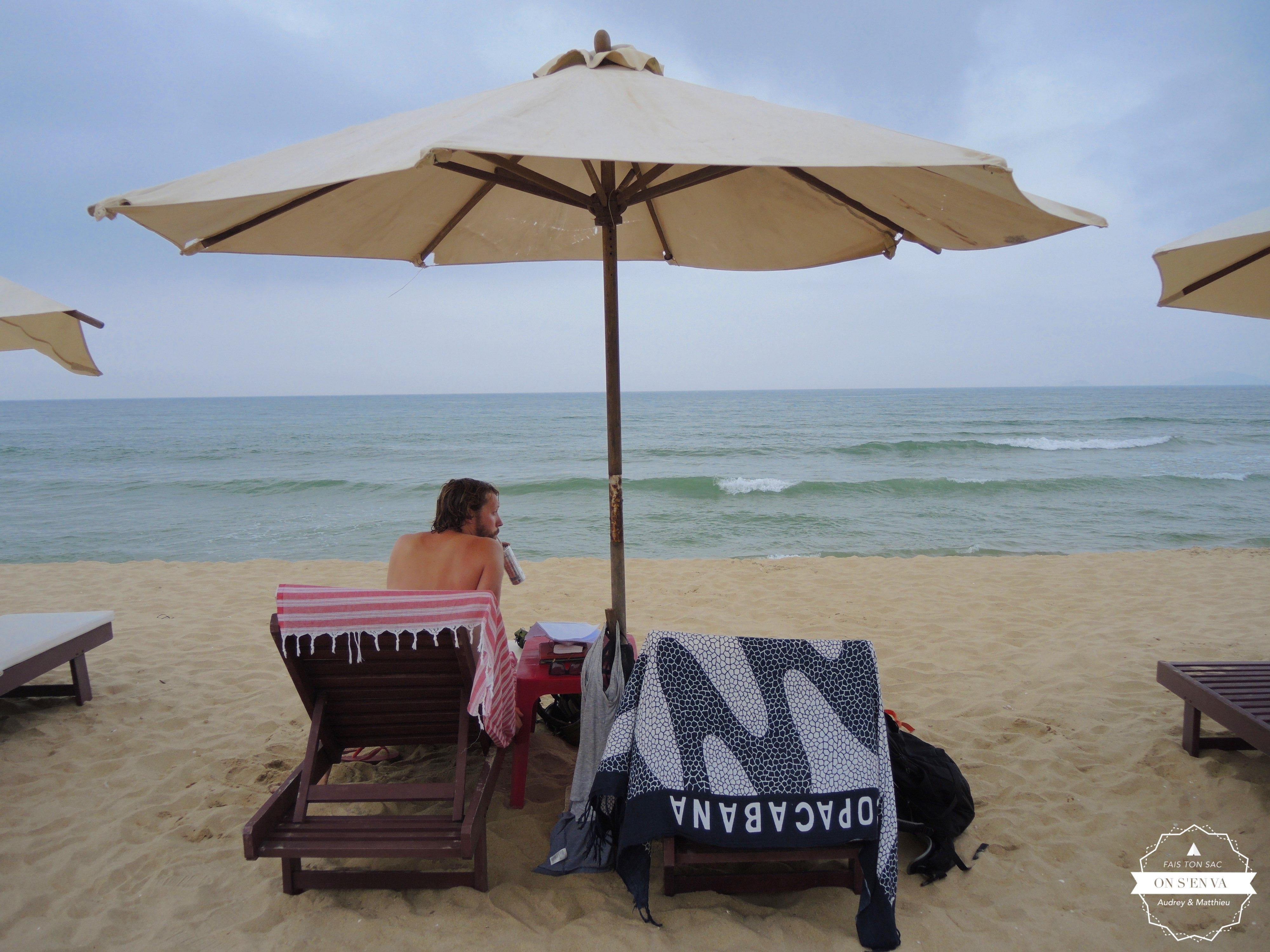 Après-midi plage