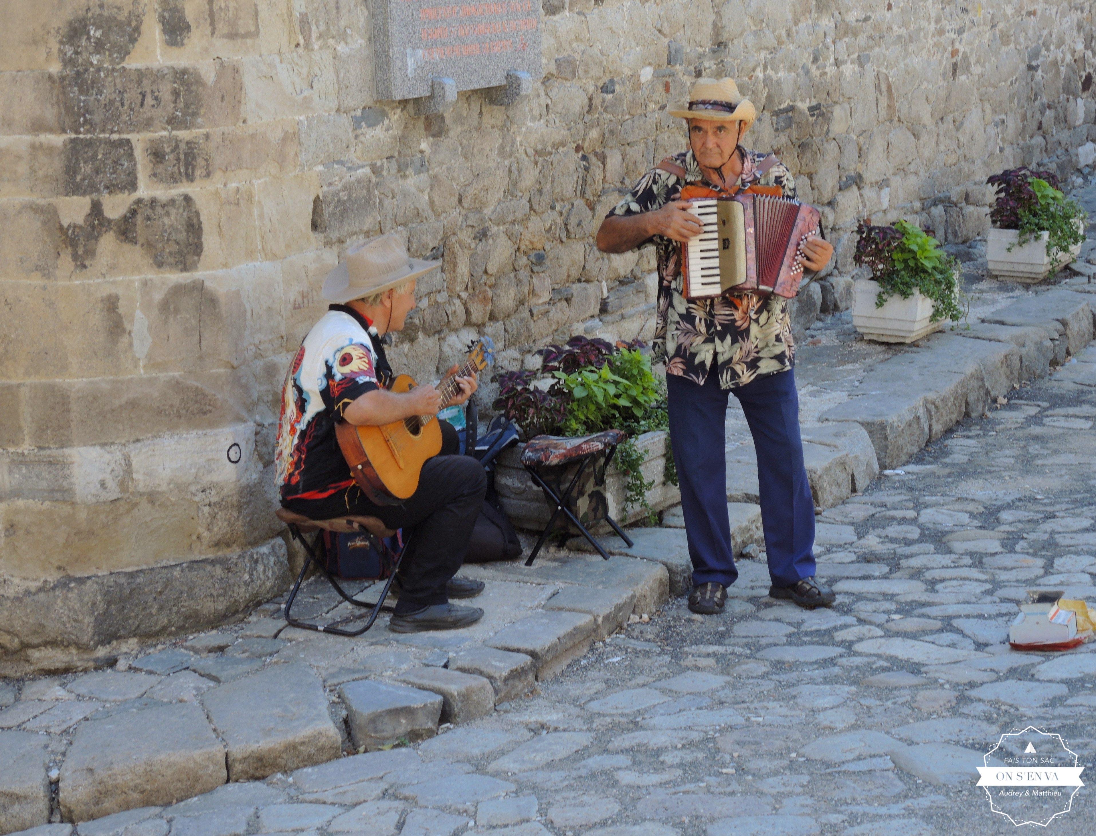 Ambiance dans la vieille ville