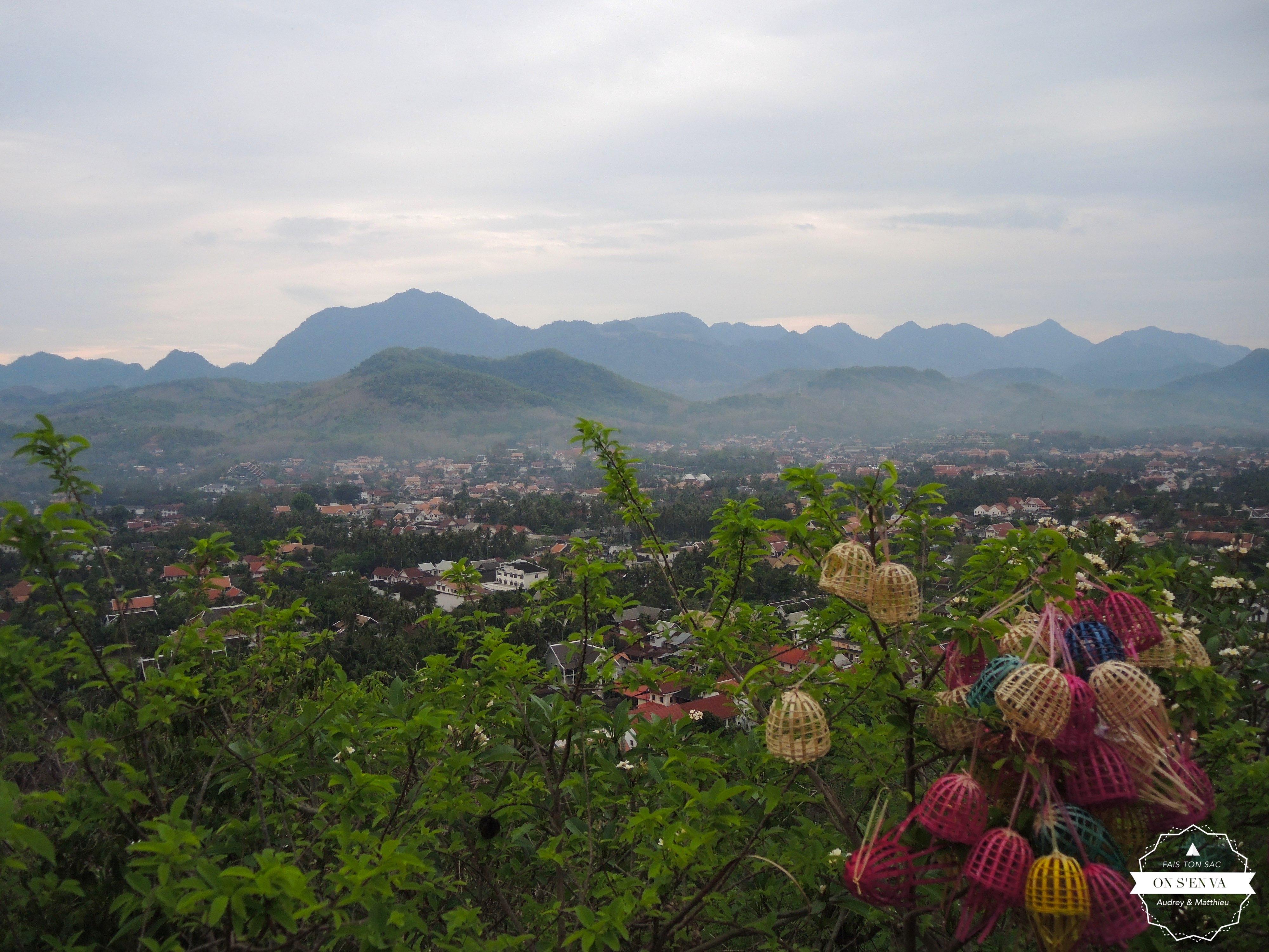 Vue depuis Phou Si
