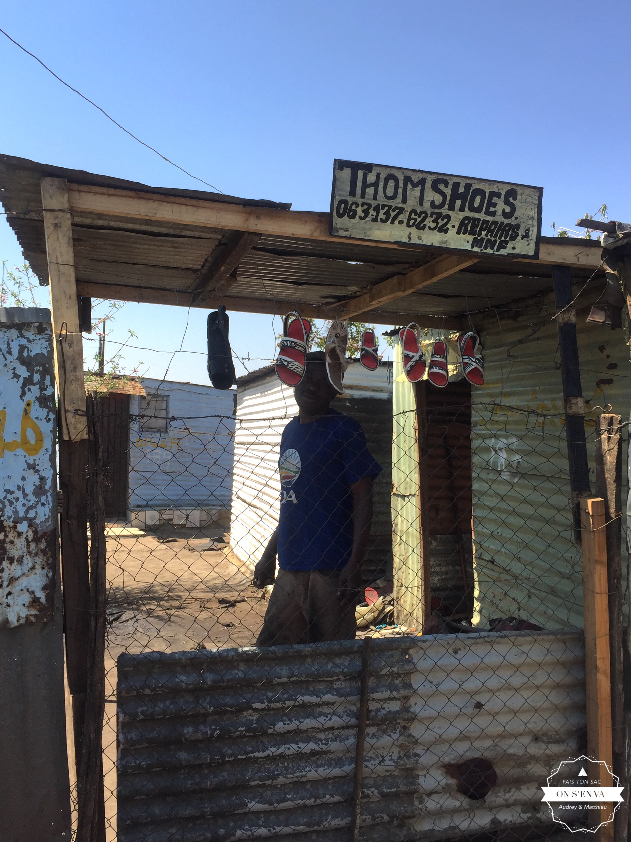 Un cordonnier à Soweto