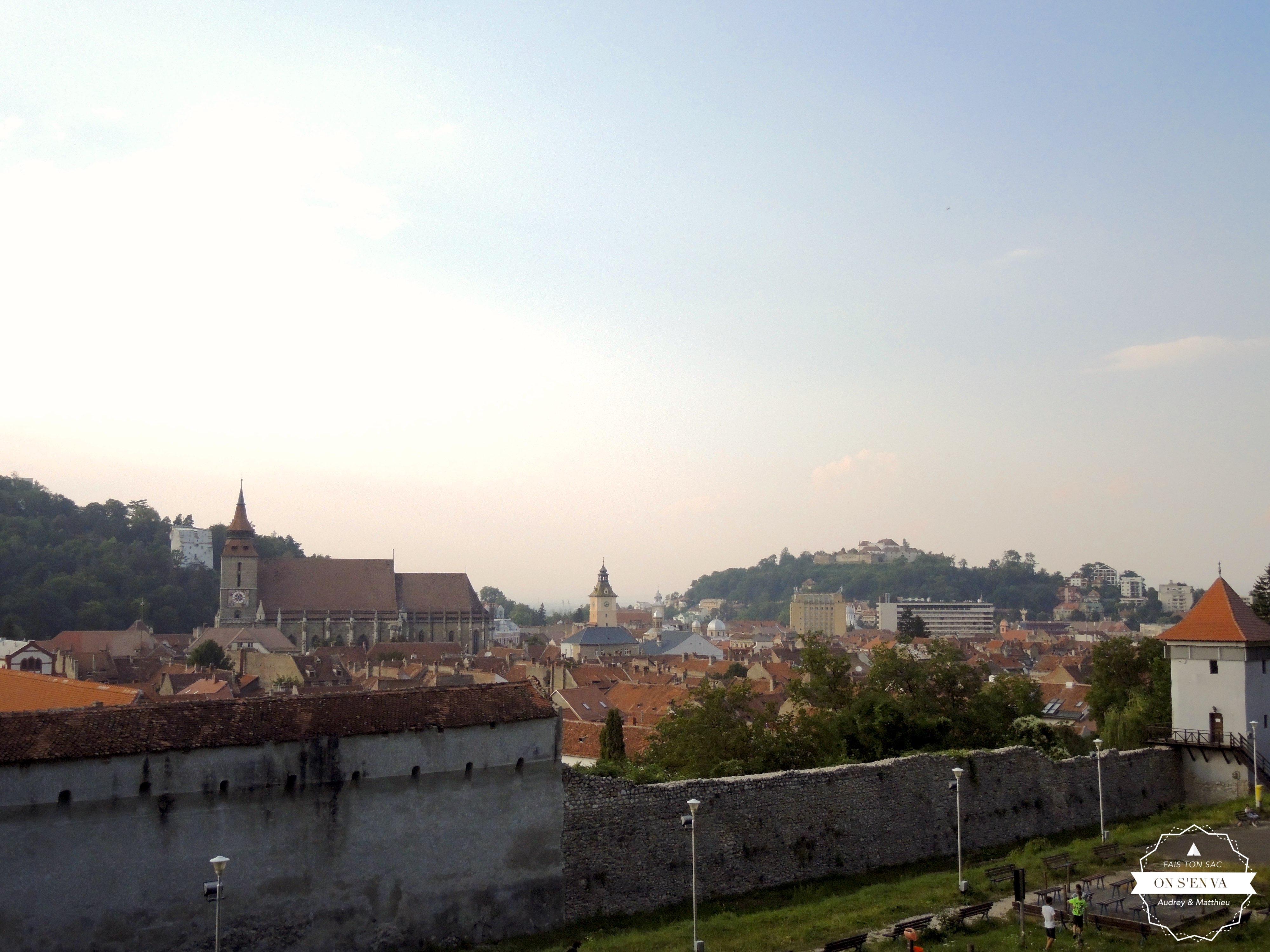 Sur les hauteurs de Brasov