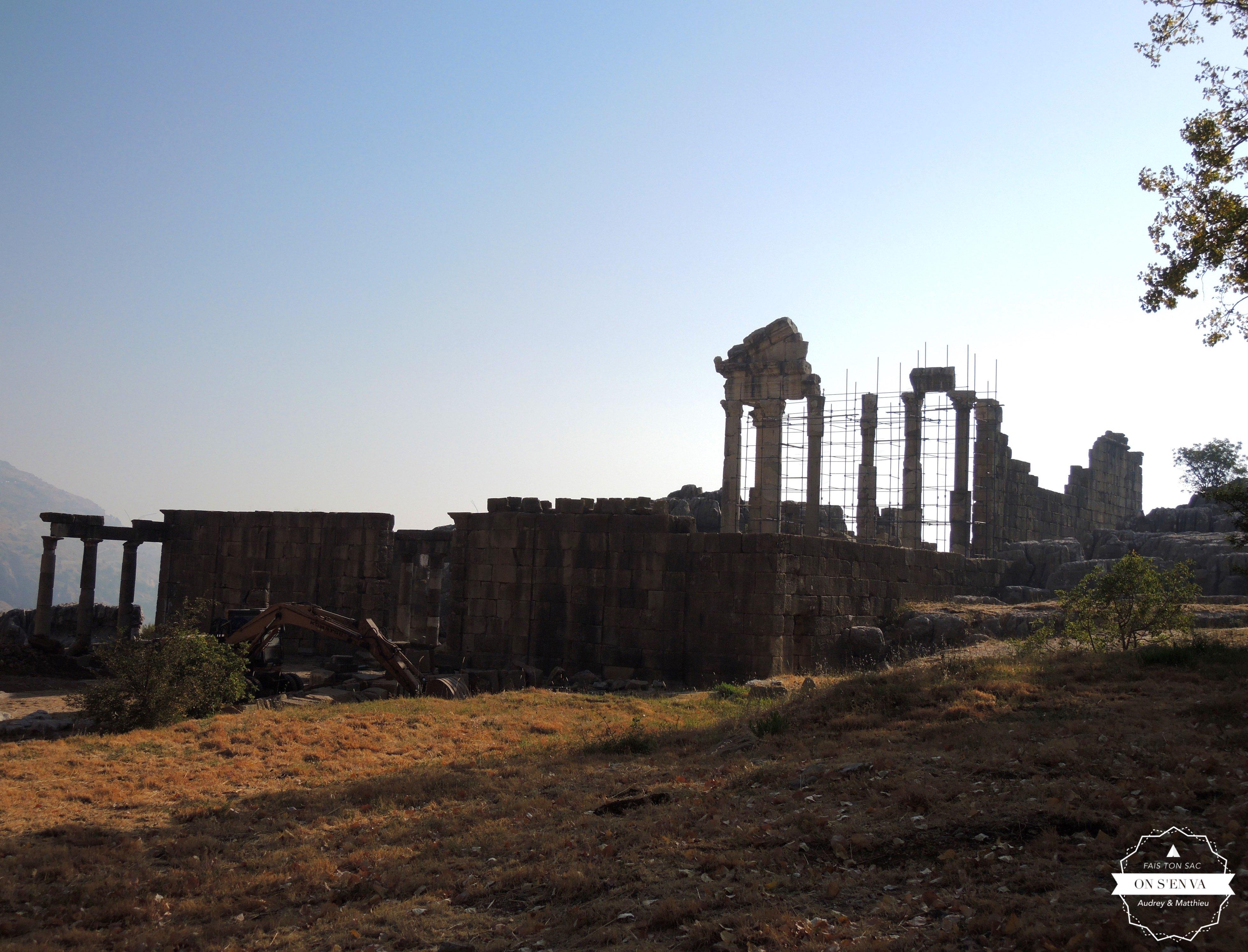 Le temple Faqra