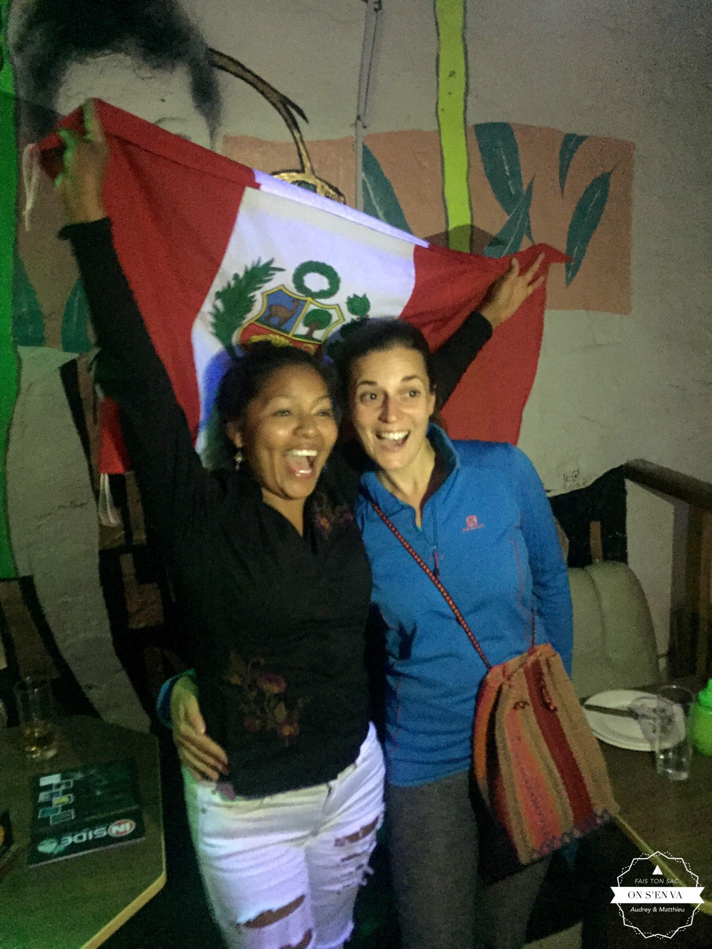 Victoire du Pérou...