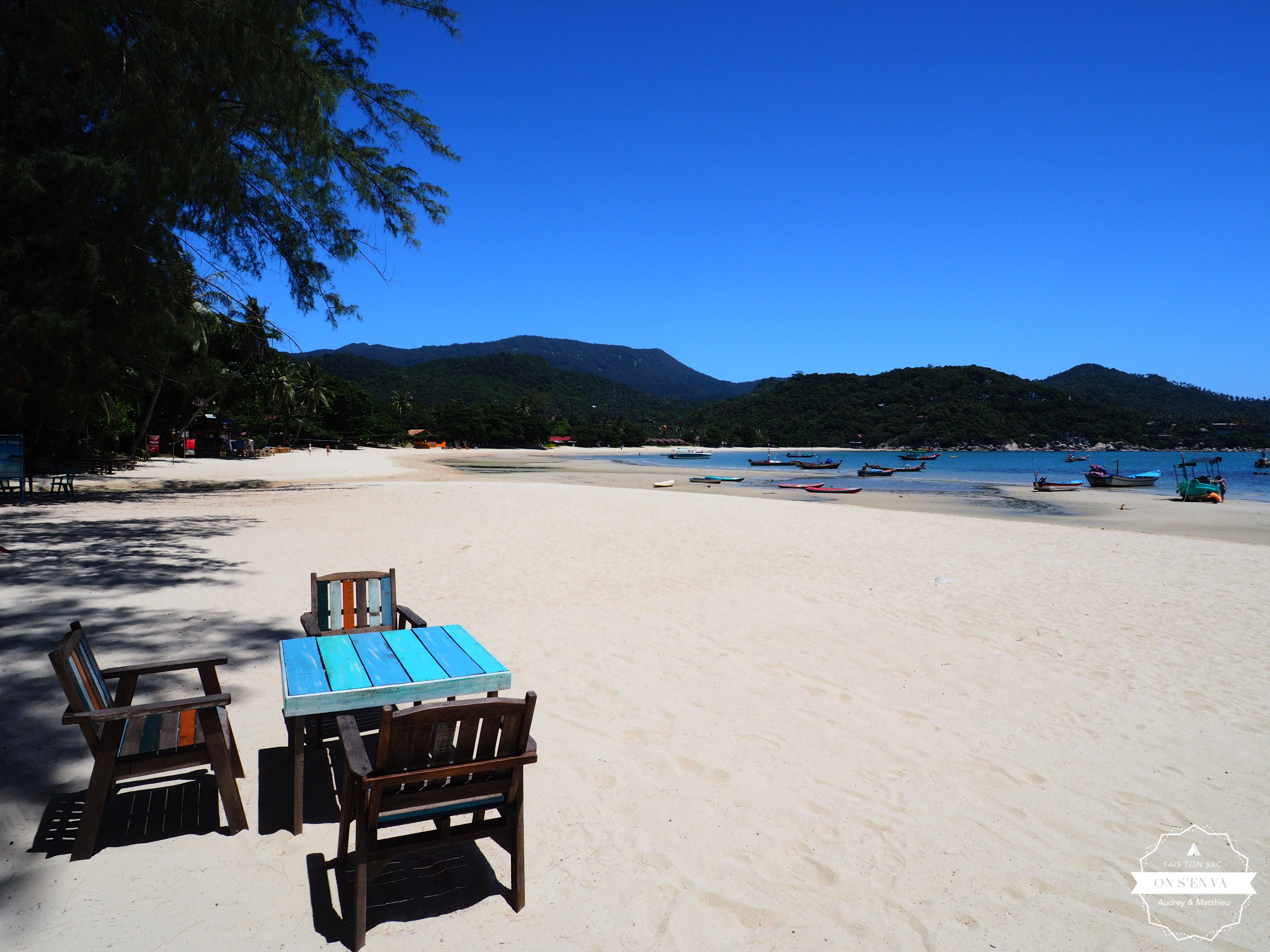 Décor de rêve à Koh Pha Ngan