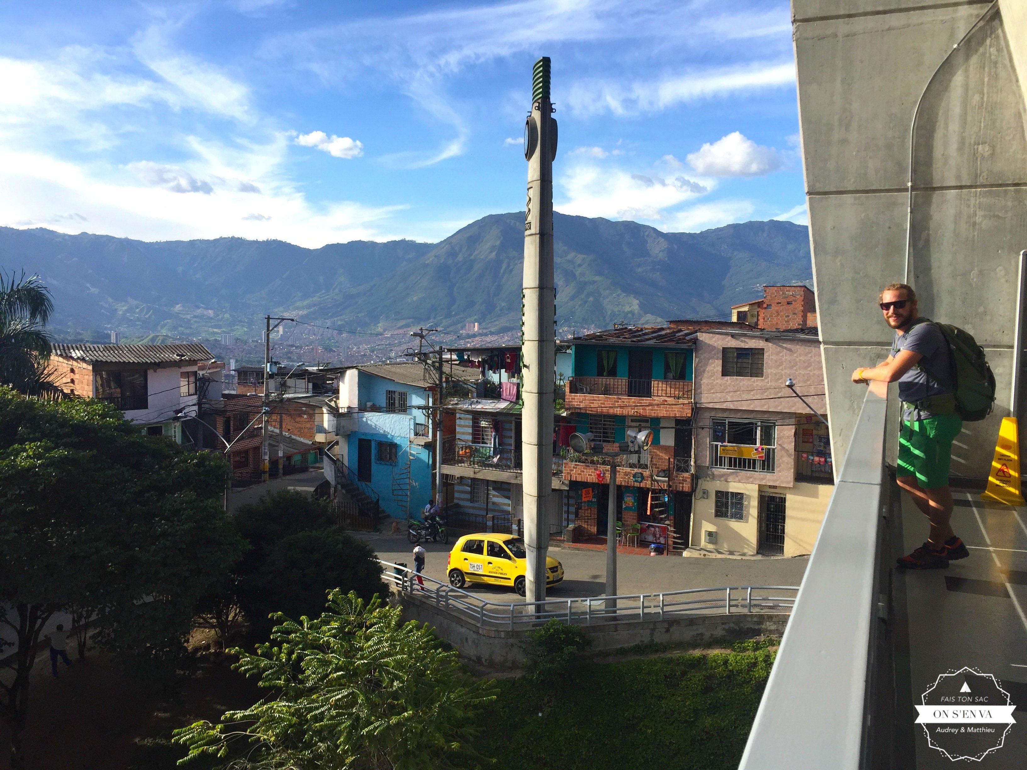 Depuis la colline Santo Domingo