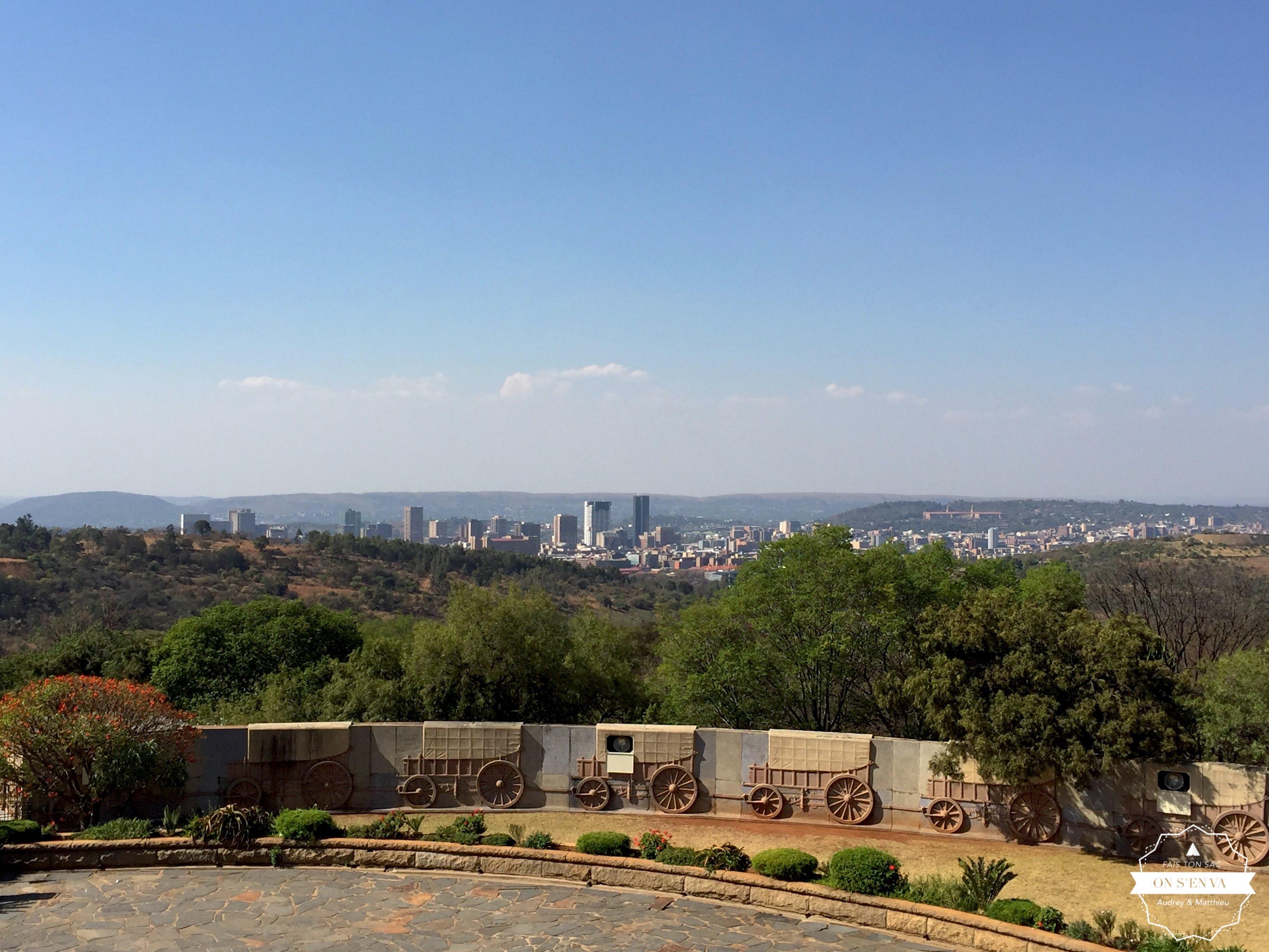 Pretoria depuis le Voortrekker