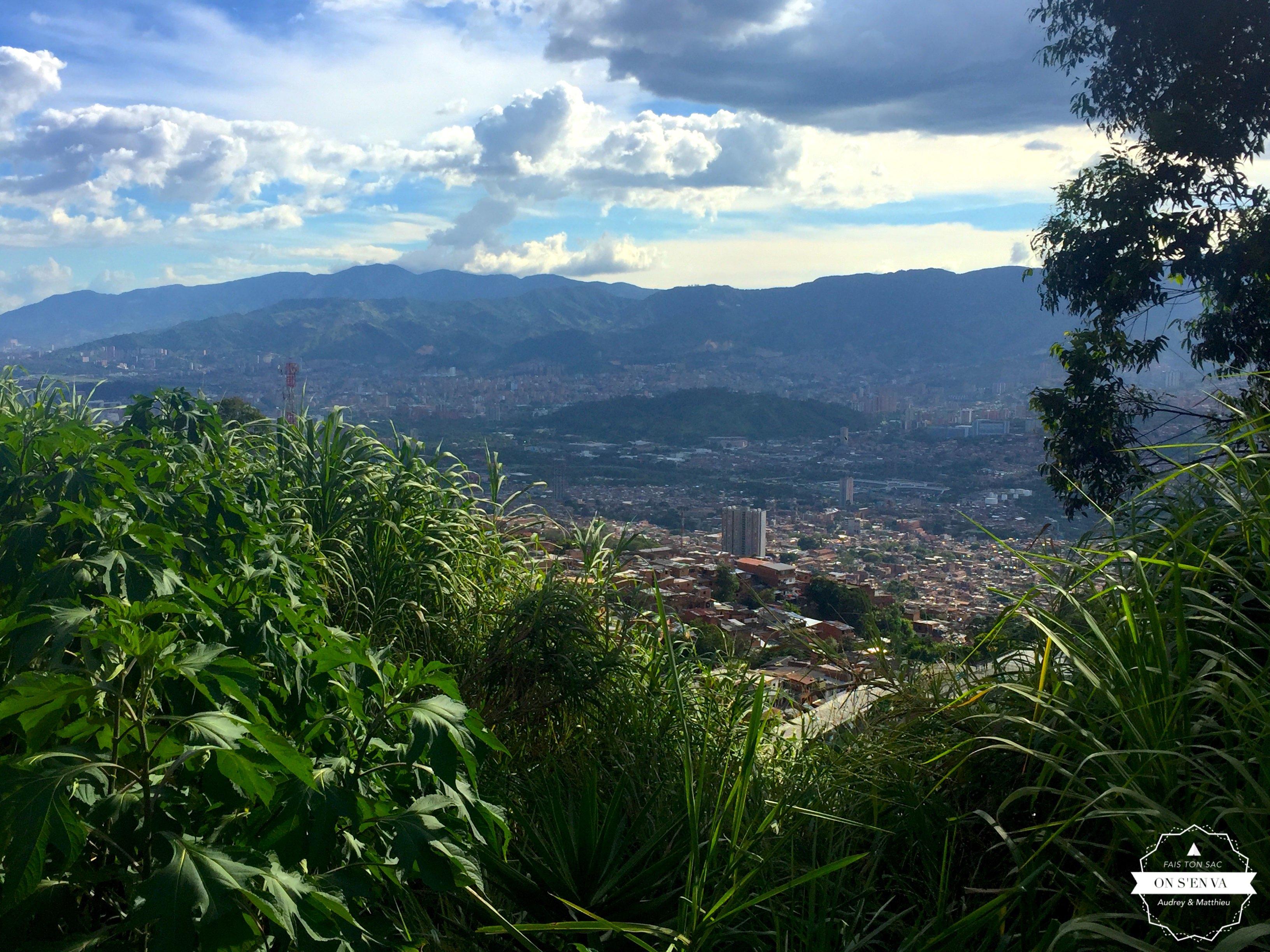 Vue de Medellin