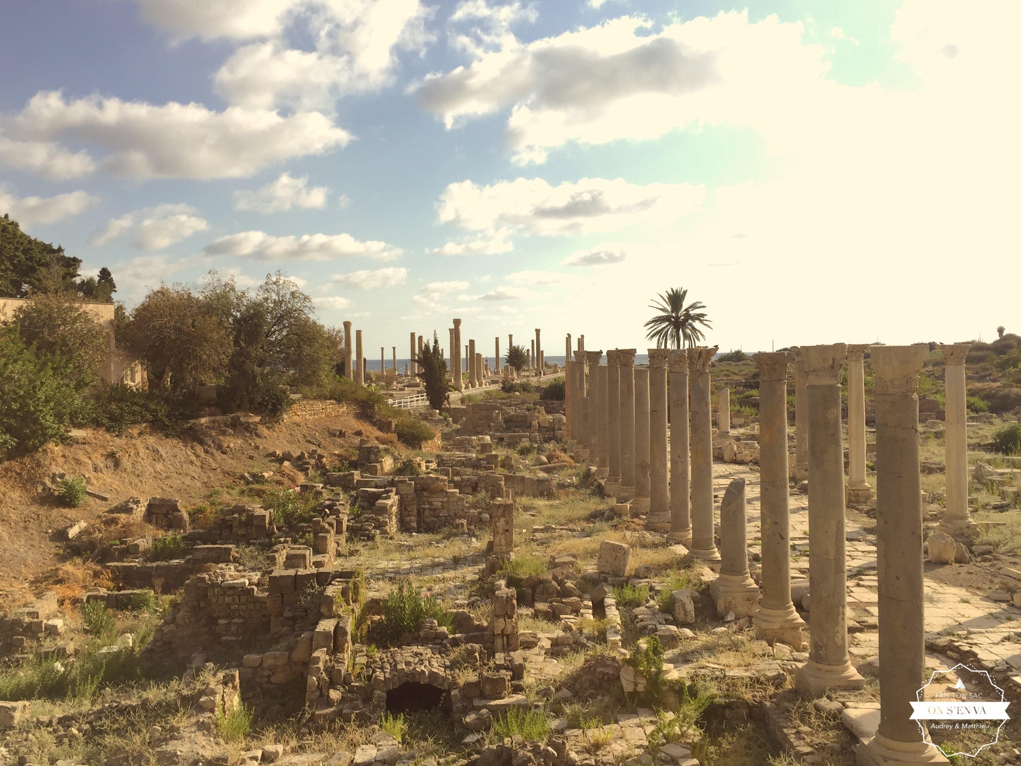 Vestiges romains dans Sour