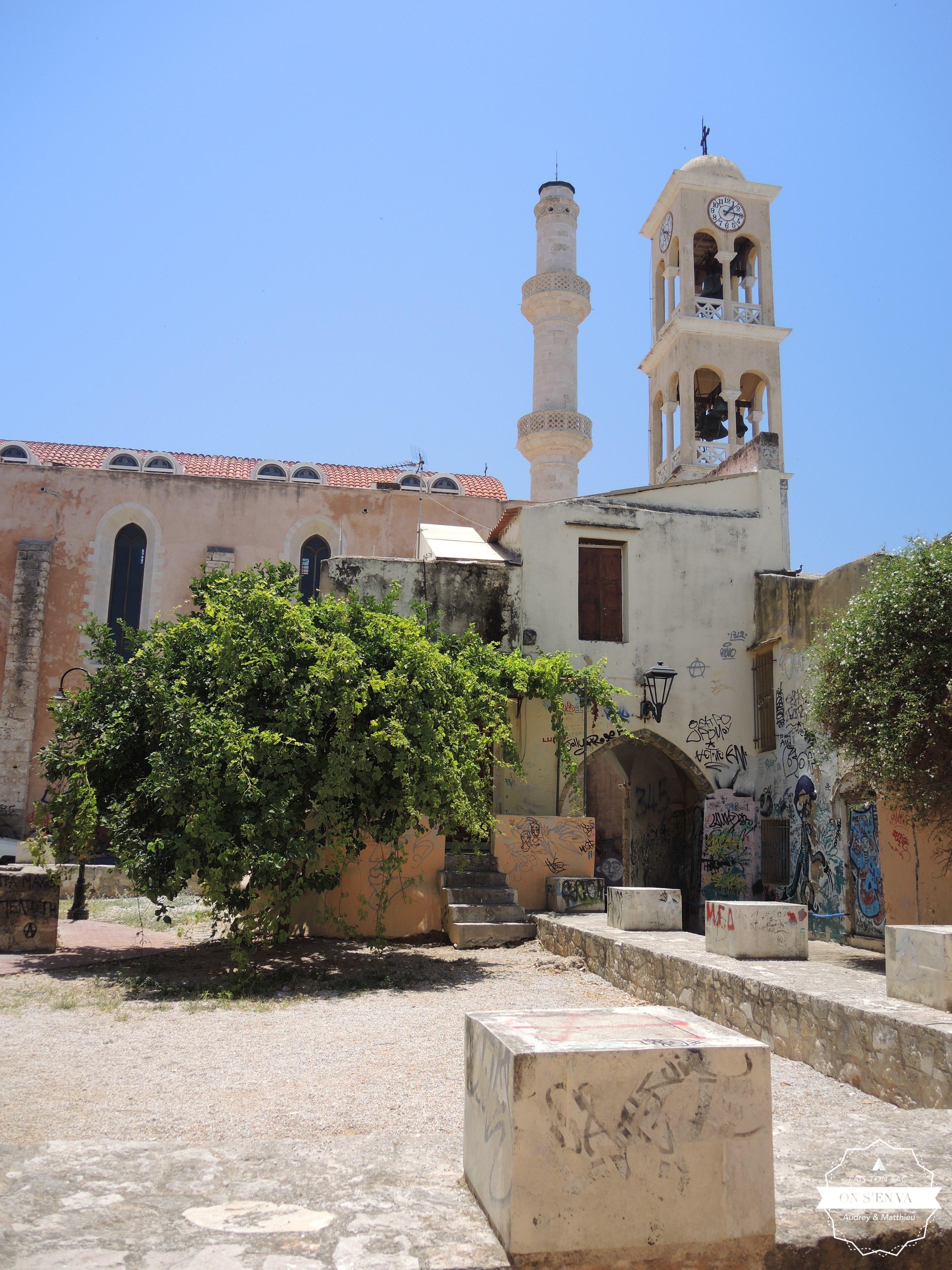 Eglise (ancienne mosquée), La Canée