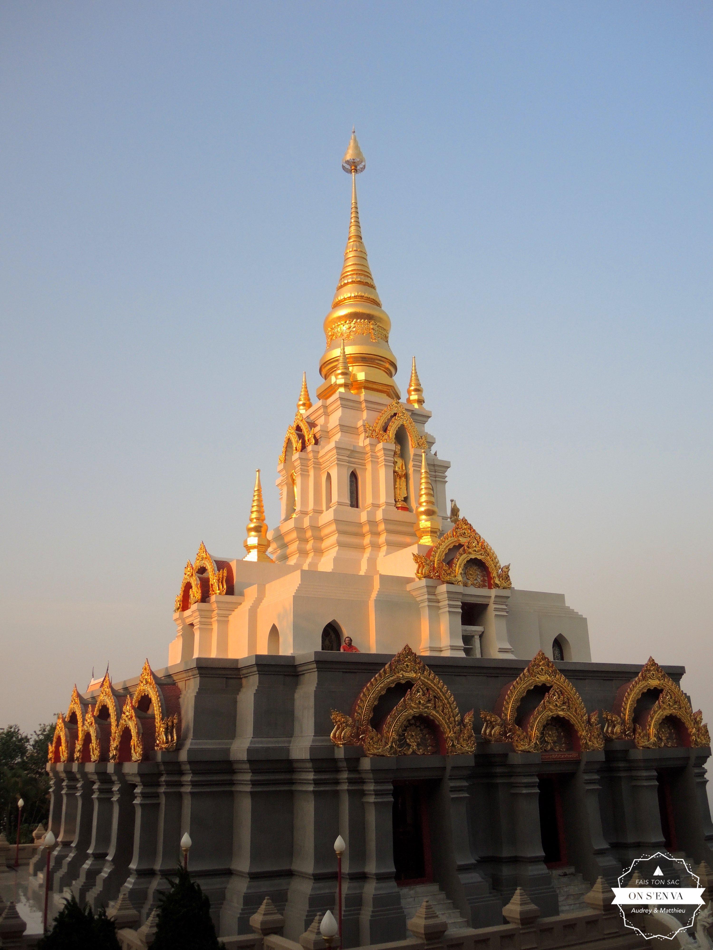 Temple sur les hauteurs de la ville