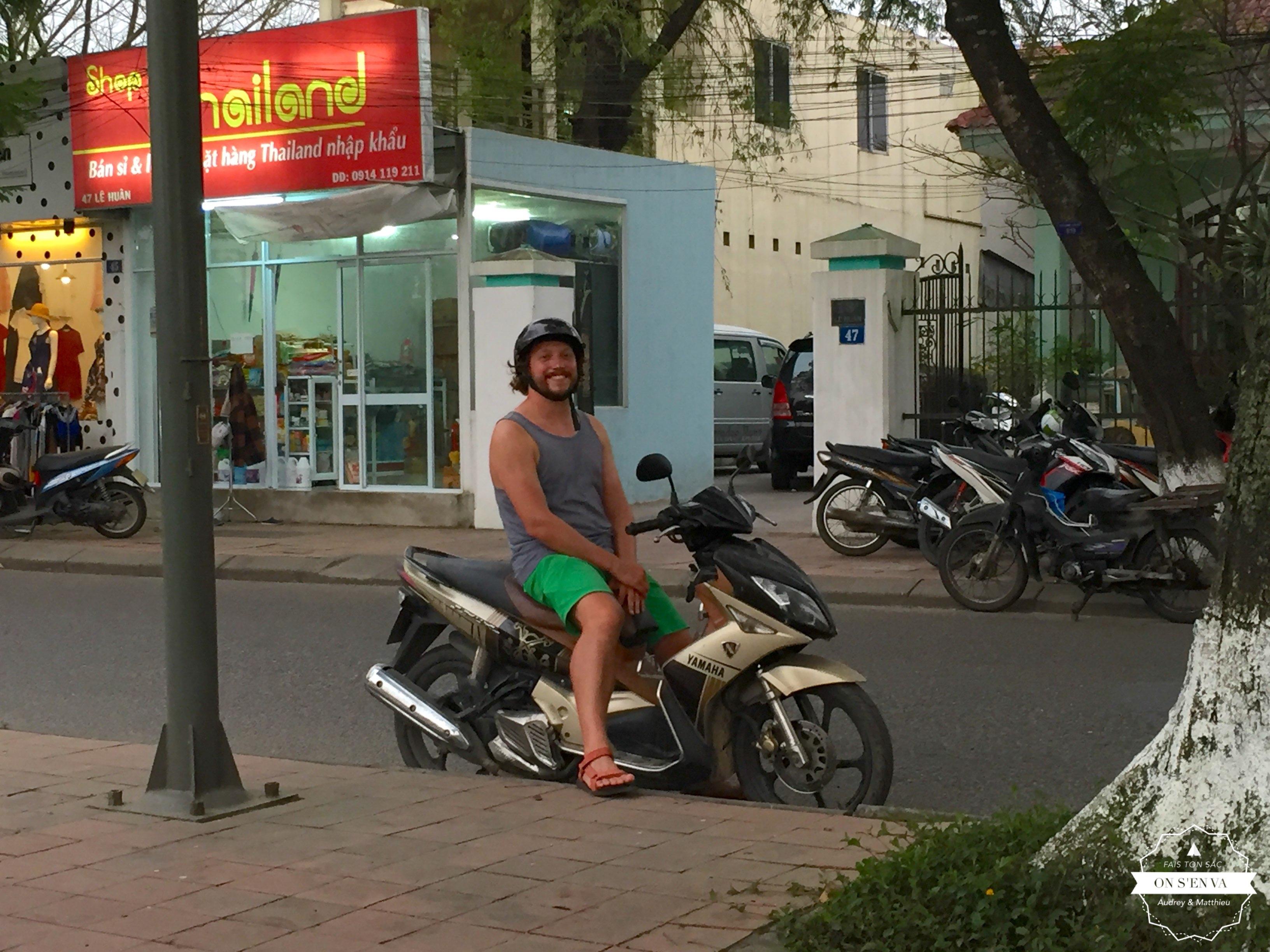Deuxième journée en scooter